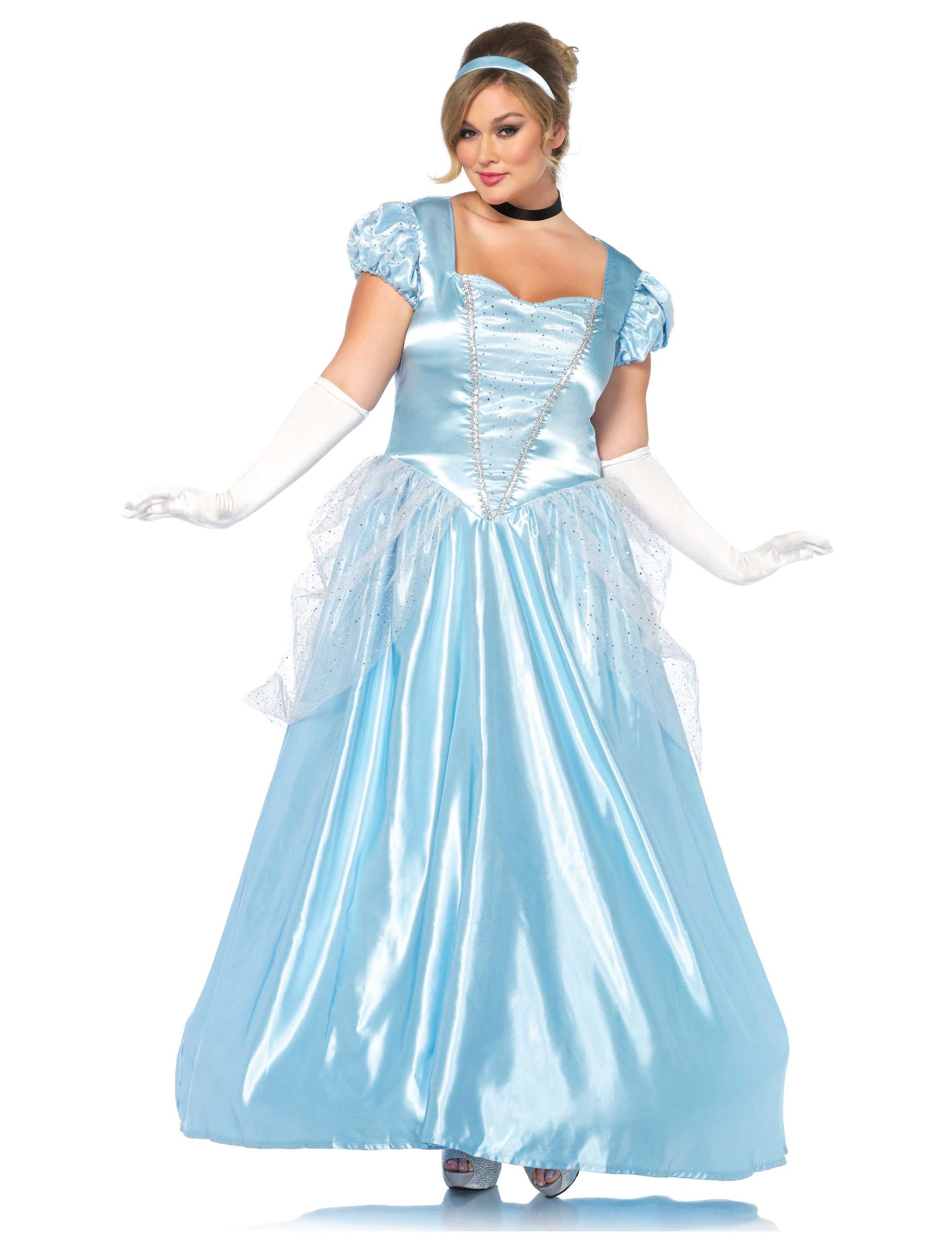 55d5a6743ebf Costume principessa azzurra donna  Costumi adulti