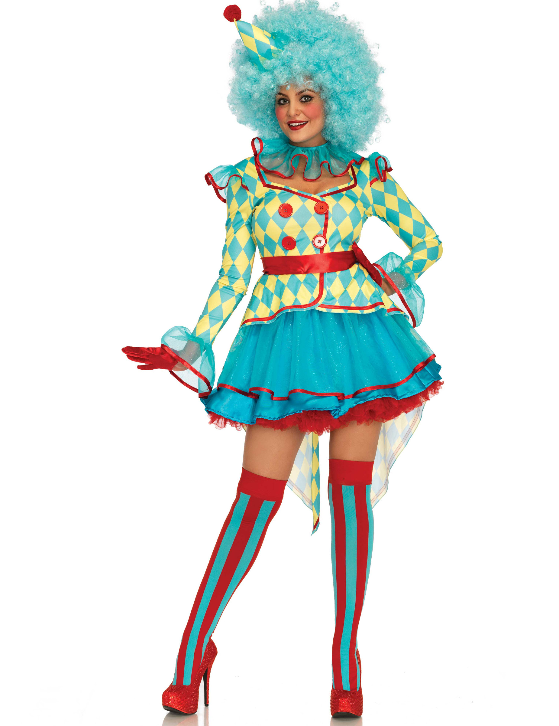 cd2a618216 Costume clown tutù donna: Costumi adulti,e vestiti di carnevale ...