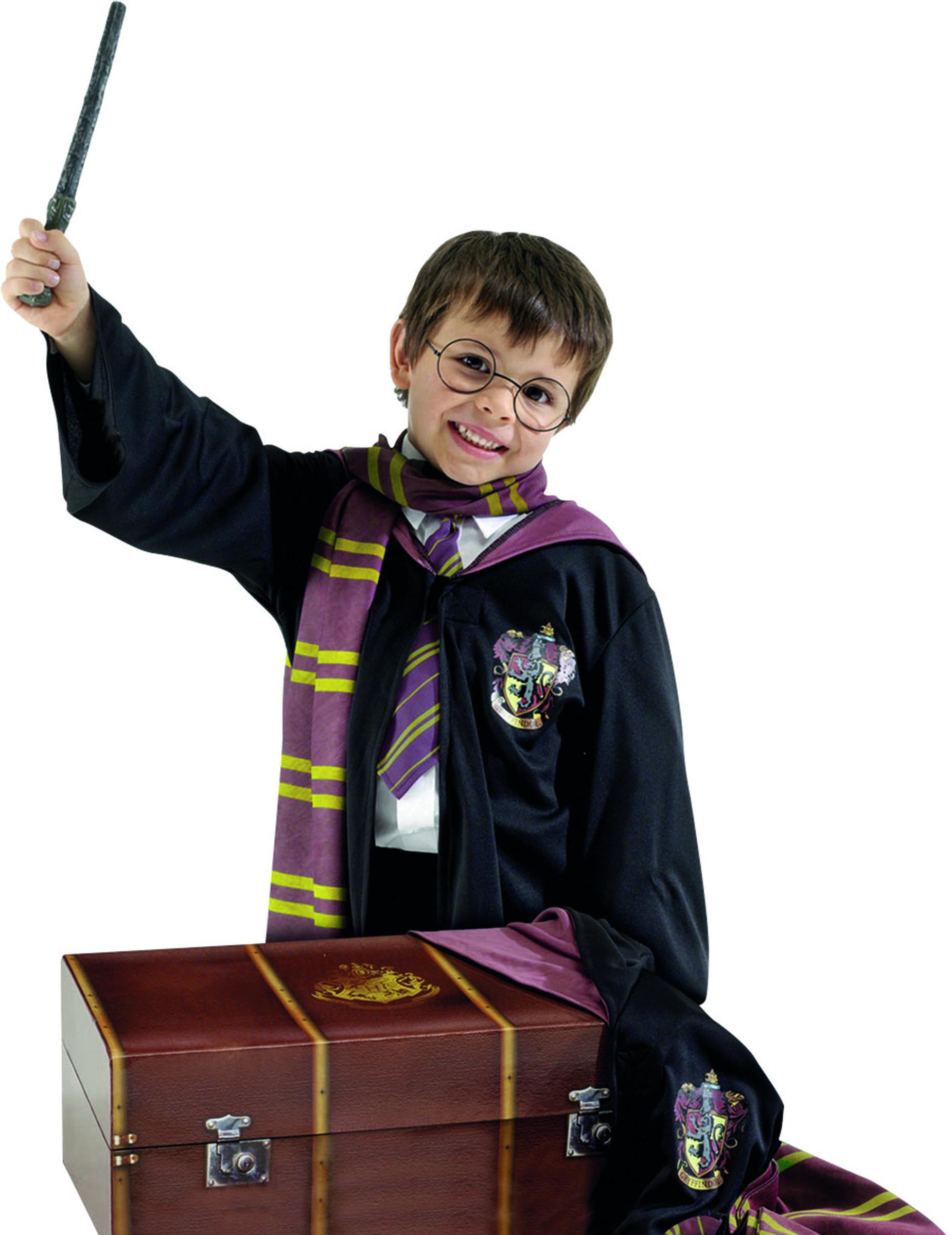 Costume harry potter bambino con bauletto costumi bambini e vestiti di carnevale online vegaoo - A tavola con harry potter ...