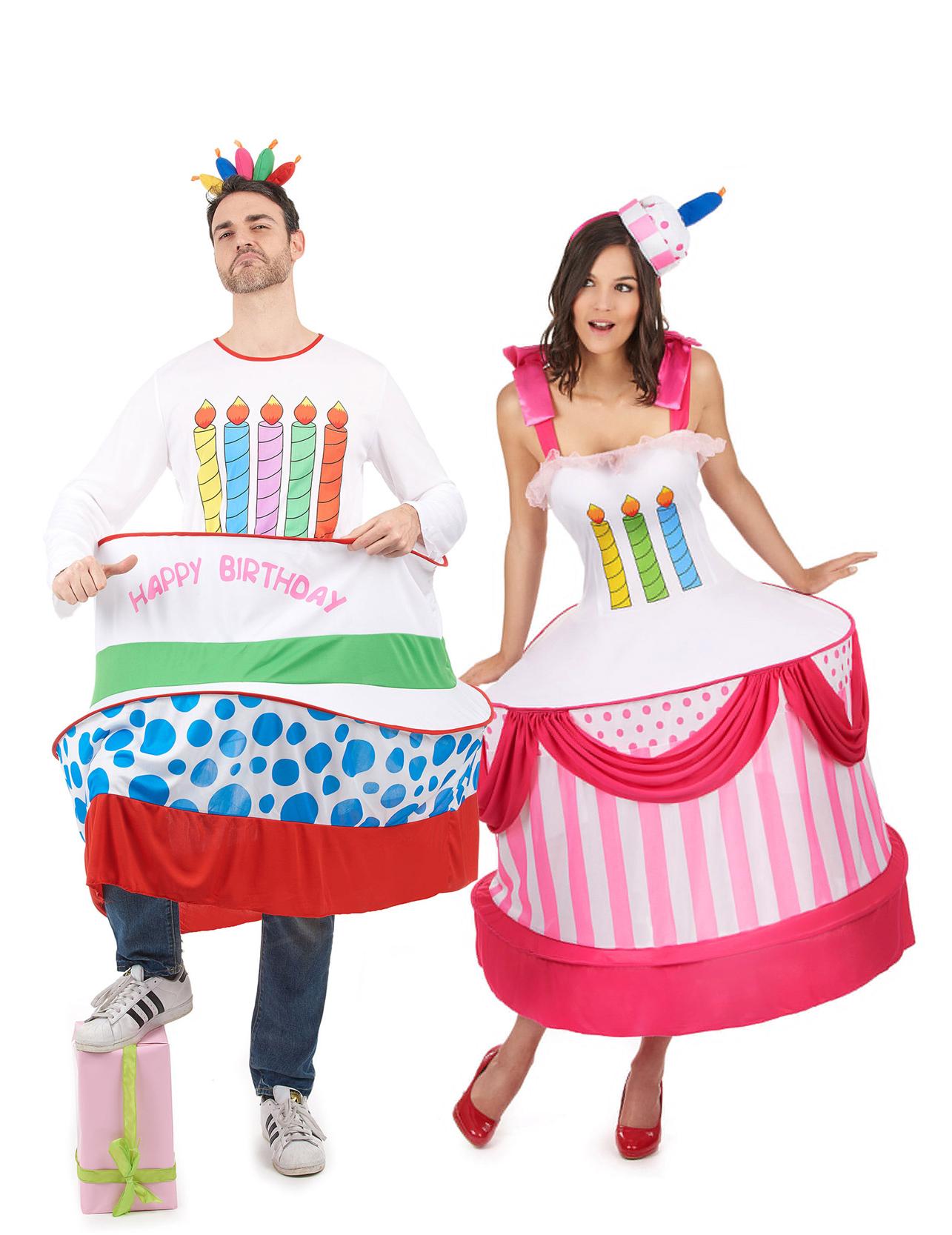 outlet in vendita miglior prezzo Prezzo del 50% Costume di coppia torta di compleanno adulto
