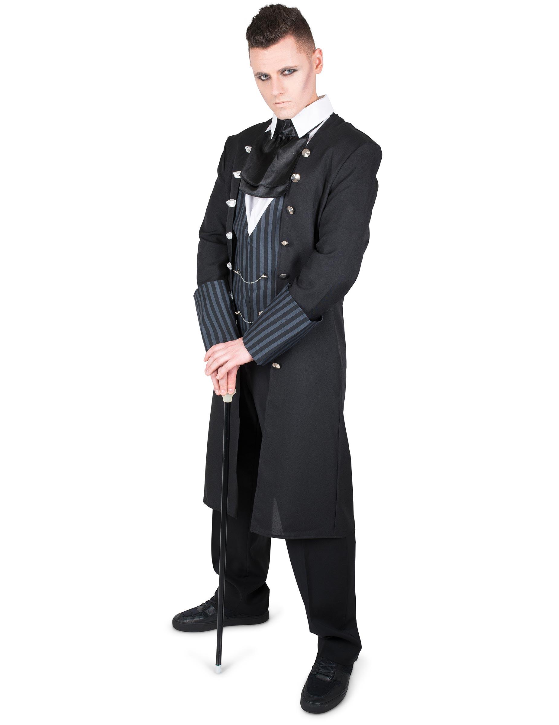 Travestimenti Halloween Uomo.Costume Conte Demoniaco Per Uomo Halloween