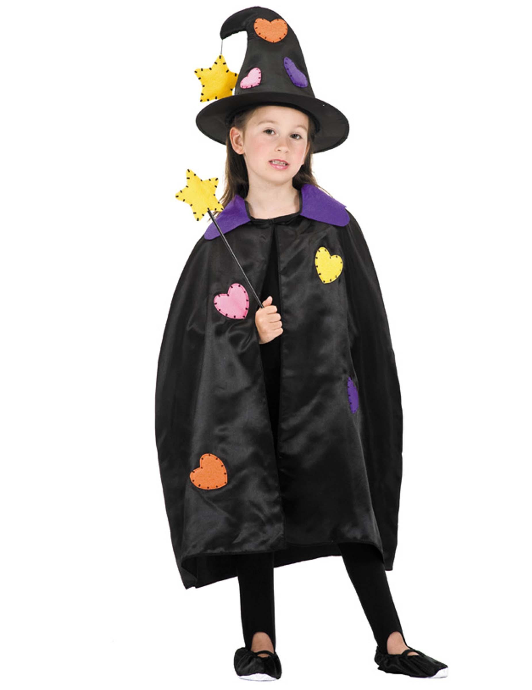 Travestimento strega bambina Source · Accessori patchwork da strega bambina  halloween Accessori e vestiti 50fe62744c89