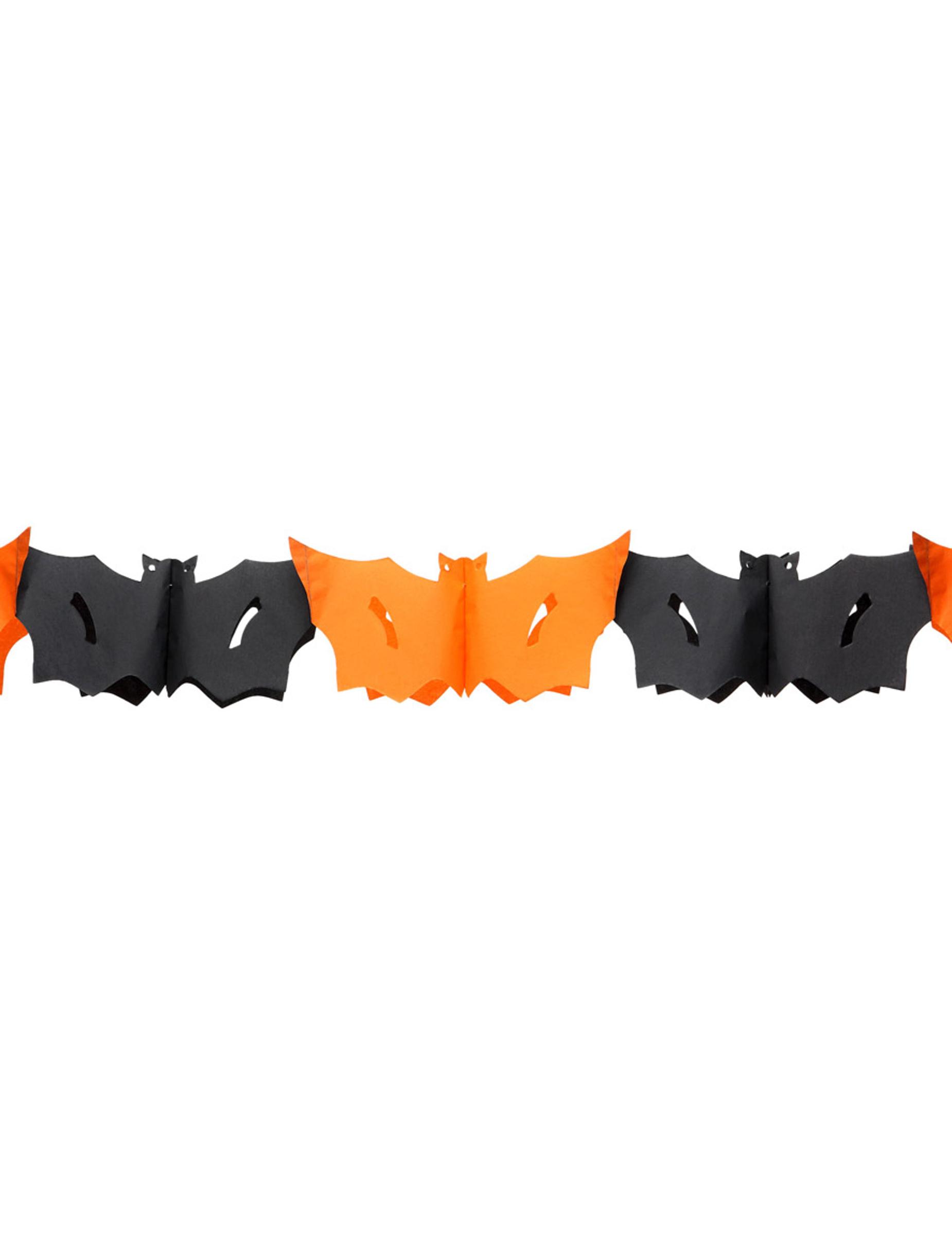 Decorazione Per Halloween Ghirlanda Pipistrelli Addobbi