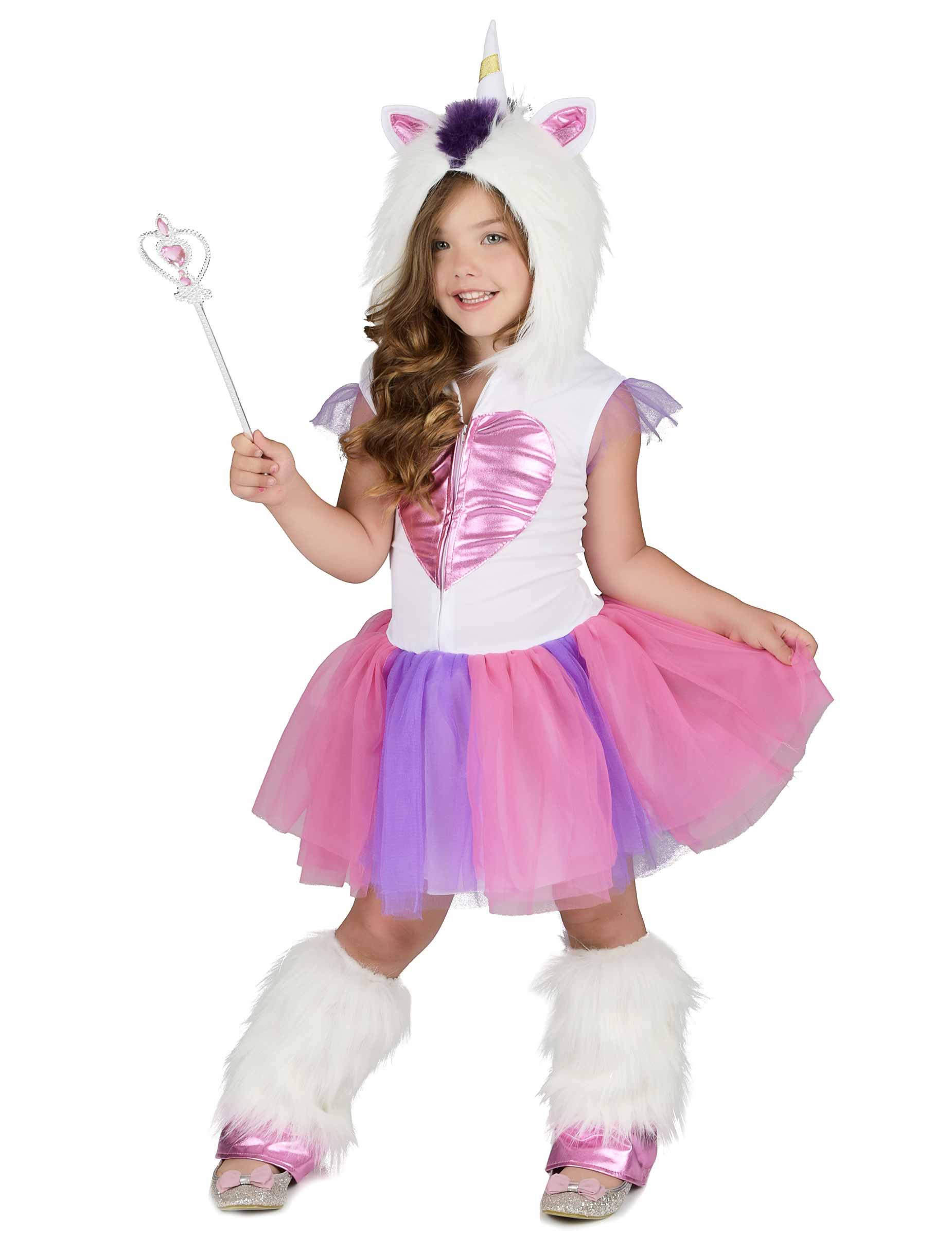 gamma esclusiva 100% genuino più economico Costume Principessa Unicorno peluche bambina