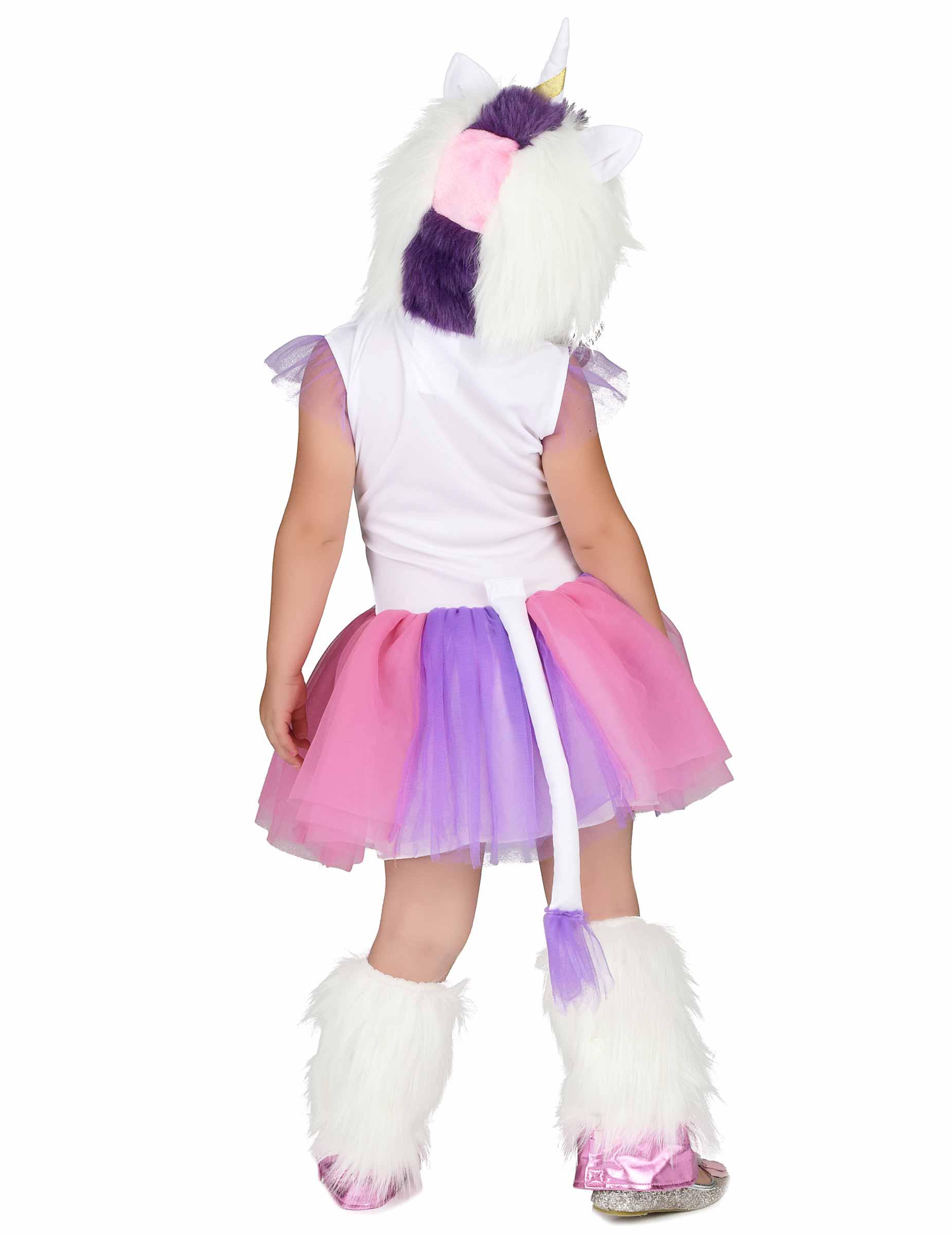 unicorno carnevale bambina  Costume Principessa Unicorno peluche bambina: Costumi bambini,e ...