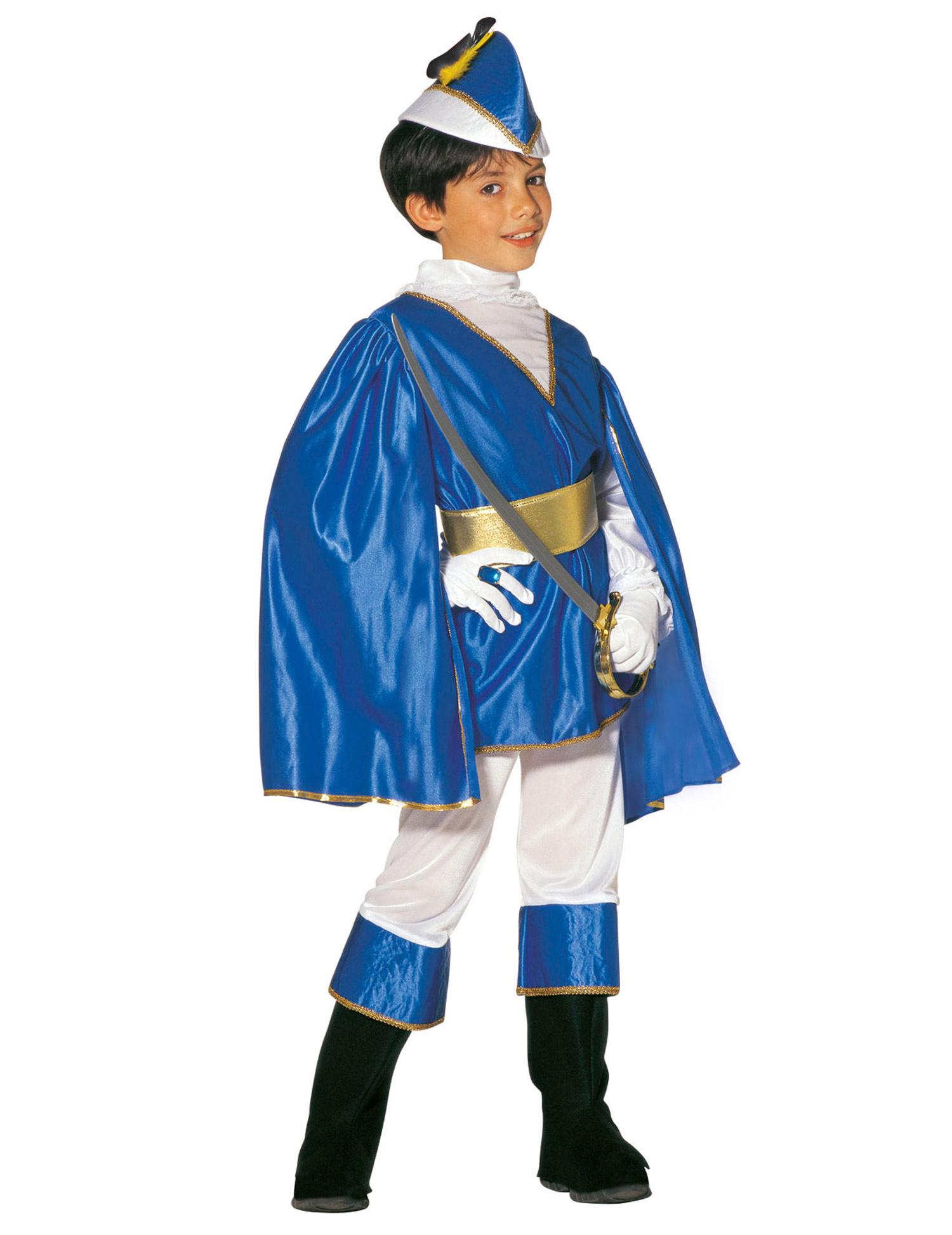 presa di fabbrica completo nelle specifiche ultimo stile Costume principe azzurro bambino