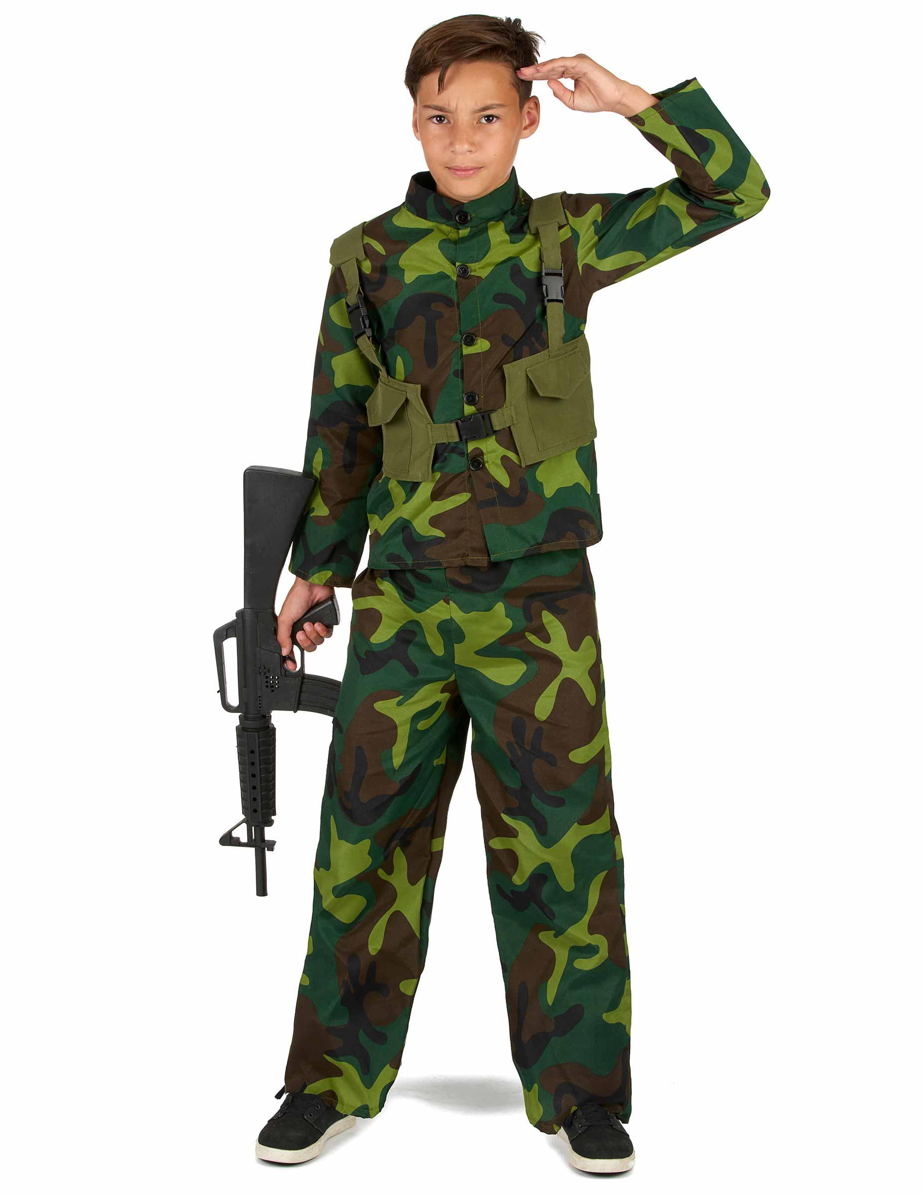 Costume da militare per bambino costumi bambini e vestiti - Costume da bagno bambino ...