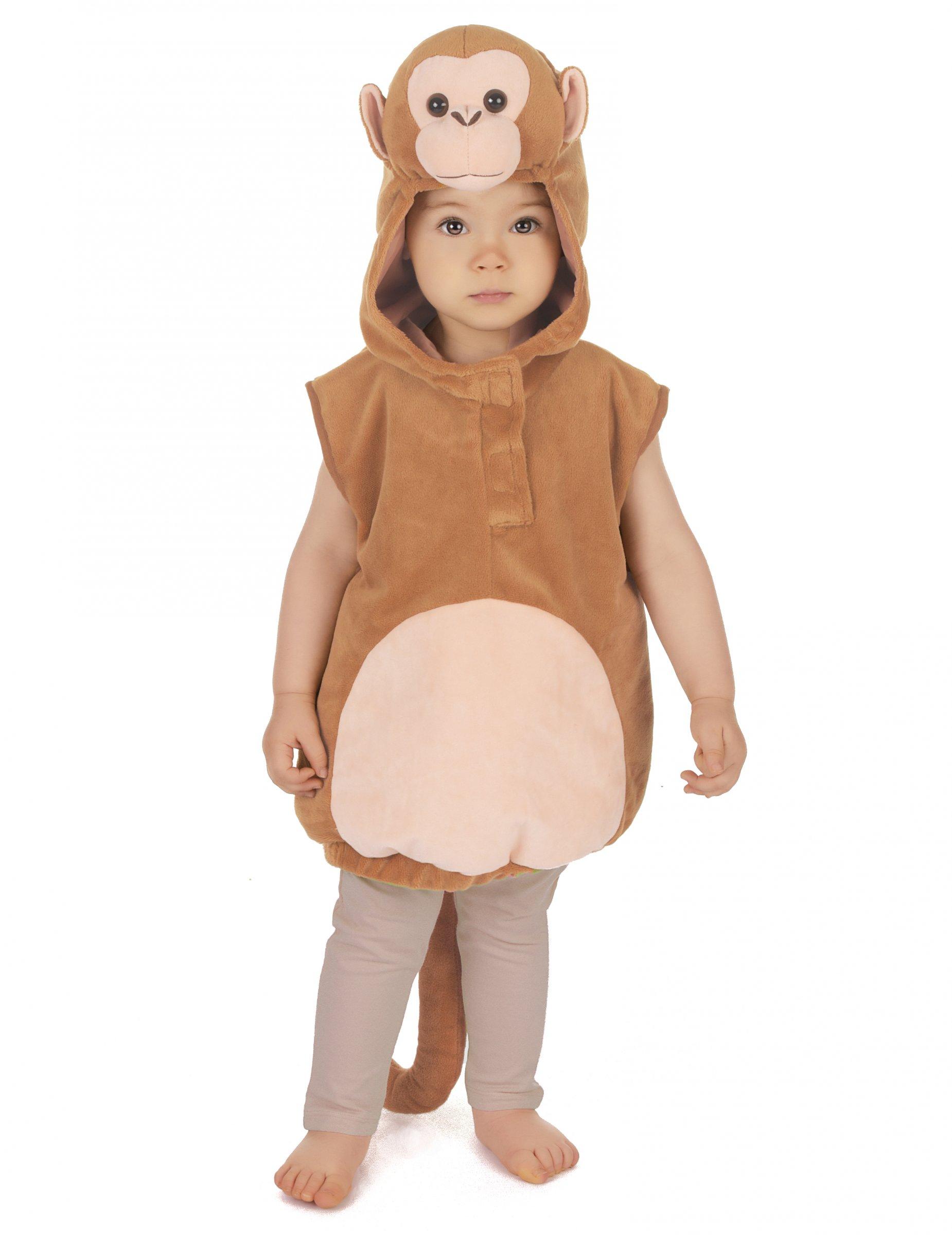 Costume da scimmietta per bambino costumi bambini e - Costume da bagno bambino ...