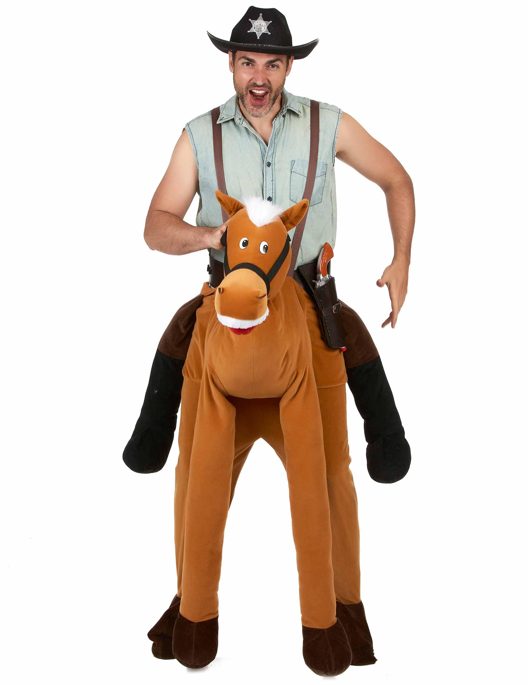 prestazione affidabile alta moda consegna gratuita Costume uomo a dorso di cavallo per adulto