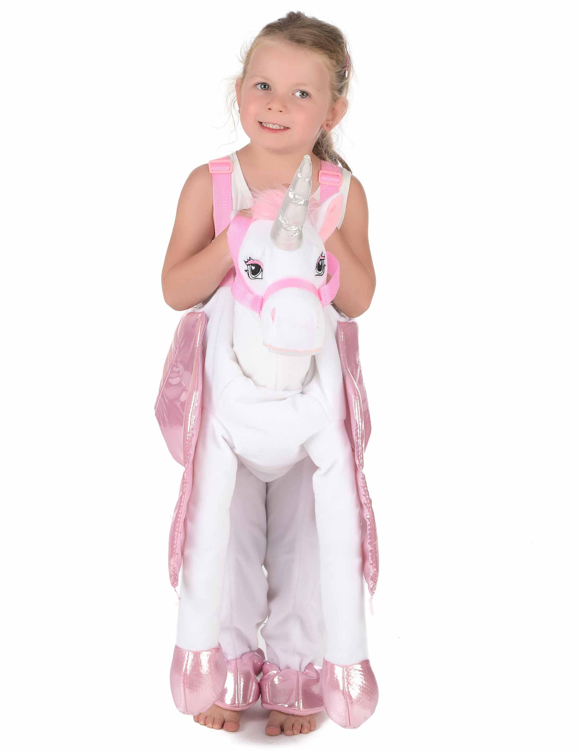Costume bambina a cavallo di unicorno per bambino  Costumi bambini 7296c666ee5