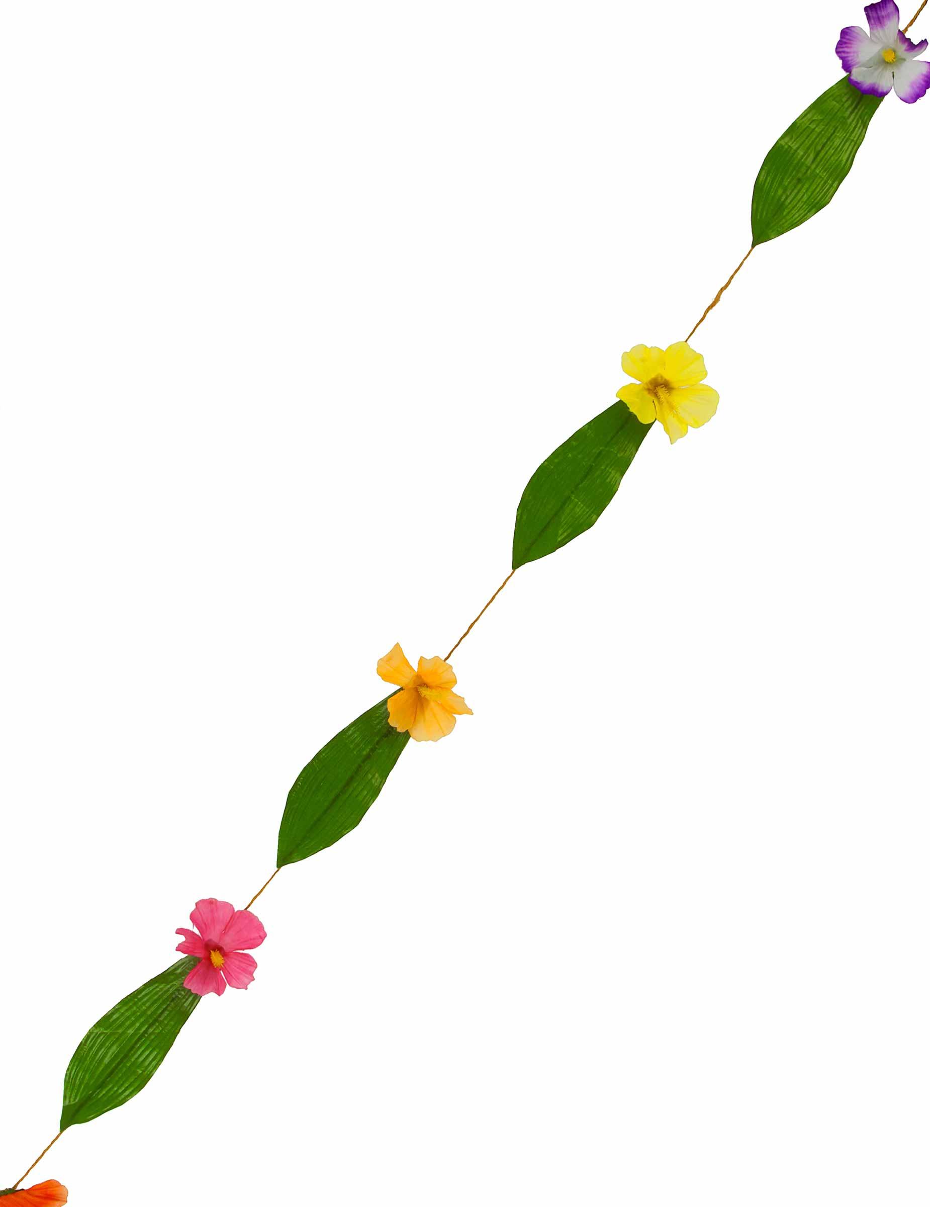 Guirlanda di fiori stile hawaiano addobbi e vestiti di for Piani domestici in stile hawaiano