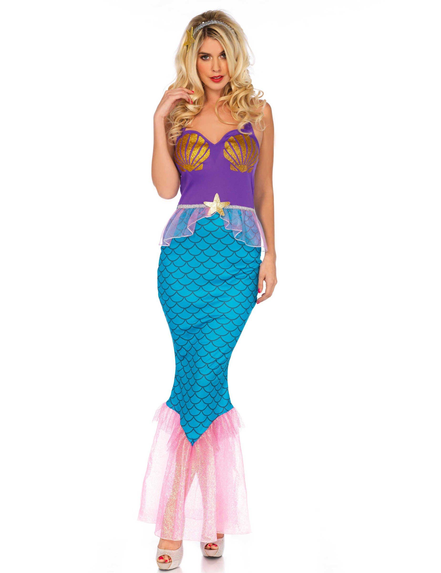 finest selection 0b0e0 bcd60 Vestito da sirena sexi per donna