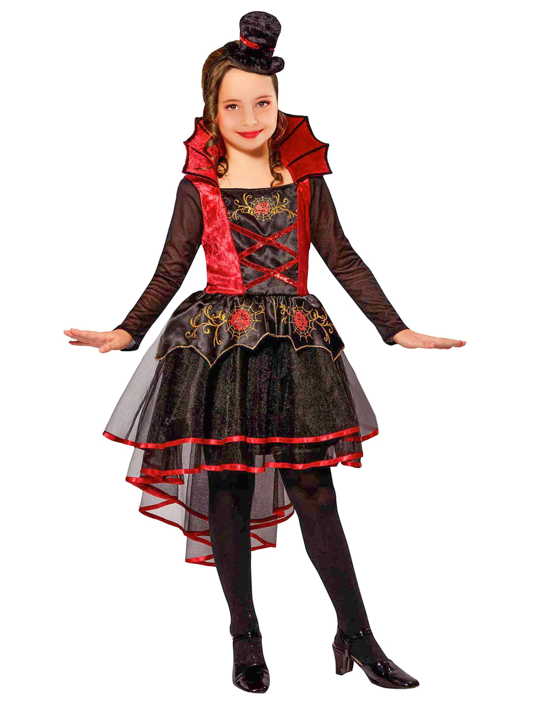 Costume da vampira vittoriana per bambina  Costumi bambini 75161098a8c1