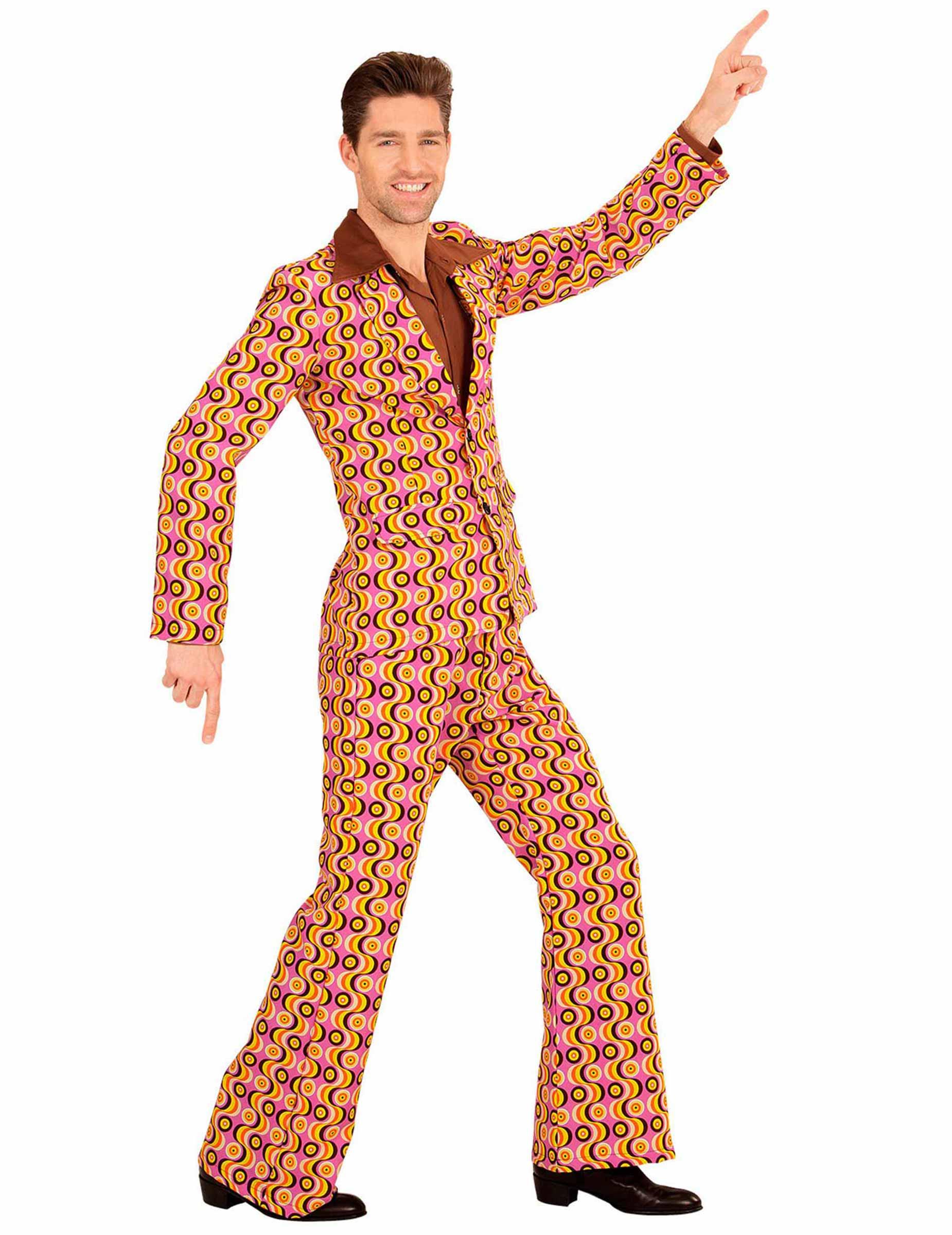costume disco retro anni 70 per uomo costumi adulti e vestiti di carnevale online vegaoo. Black Bedroom Furniture Sets. Home Design Ideas
