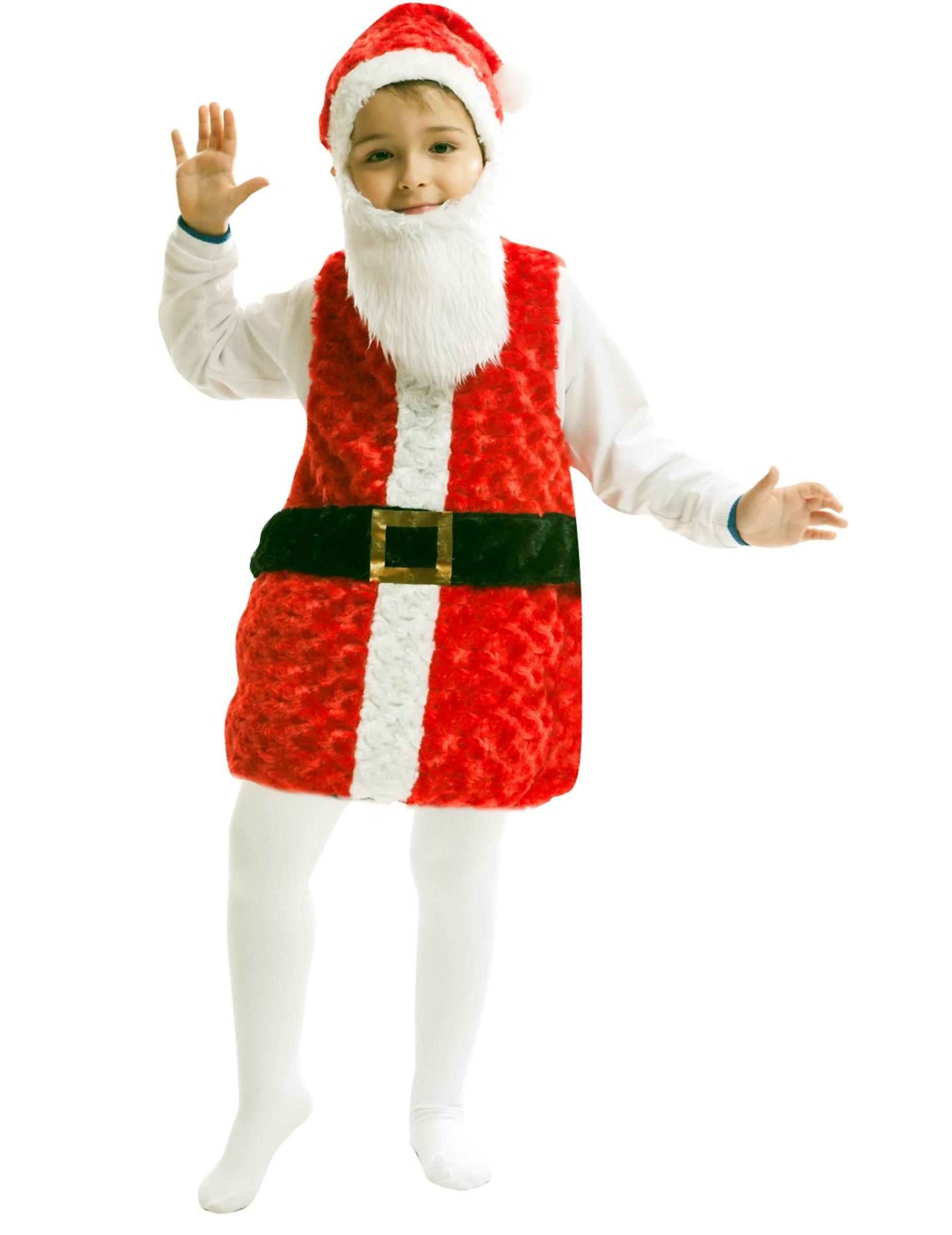 Costume da Babbo Natale per bambino  Costumi bambini e45178ffb29