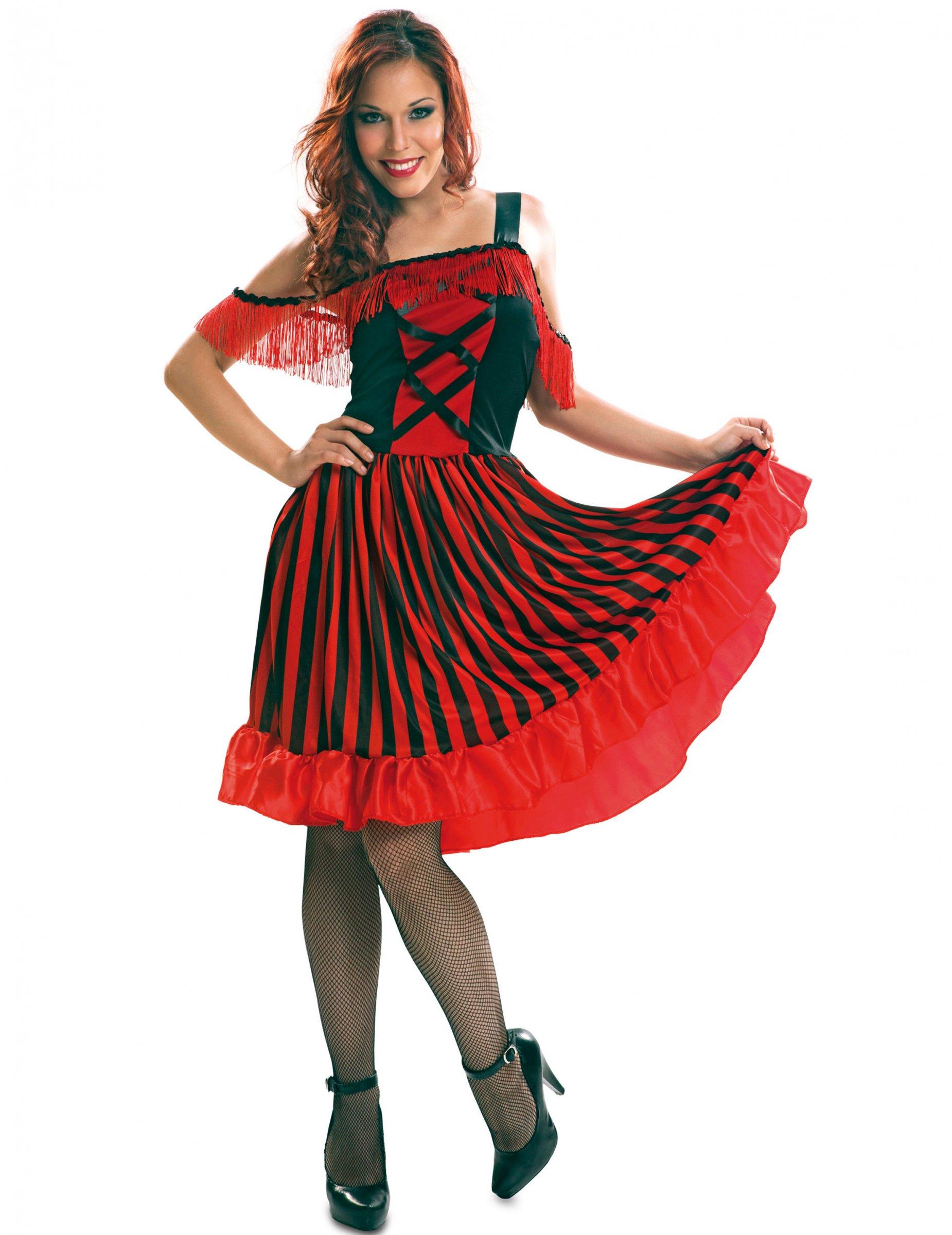 0fdc6e28369f0 Costume da ballerina spagnola per donna  Costumi adulti