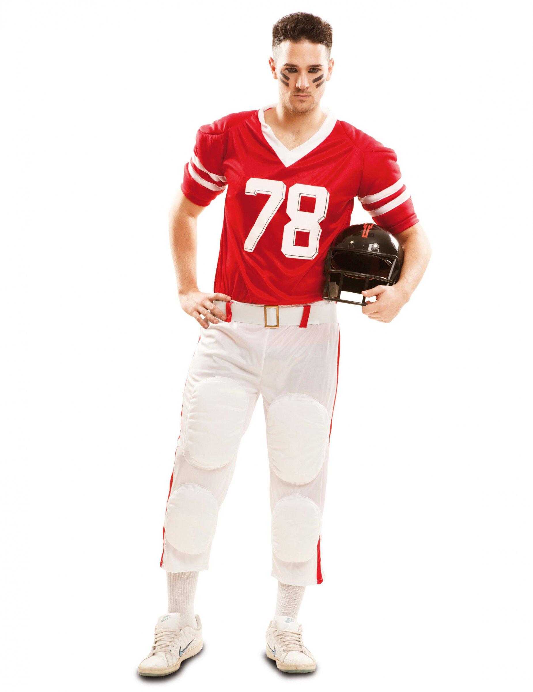 85c305e57ae3 Costume da giocatore di football americano per uomo: Costumi adulti ...