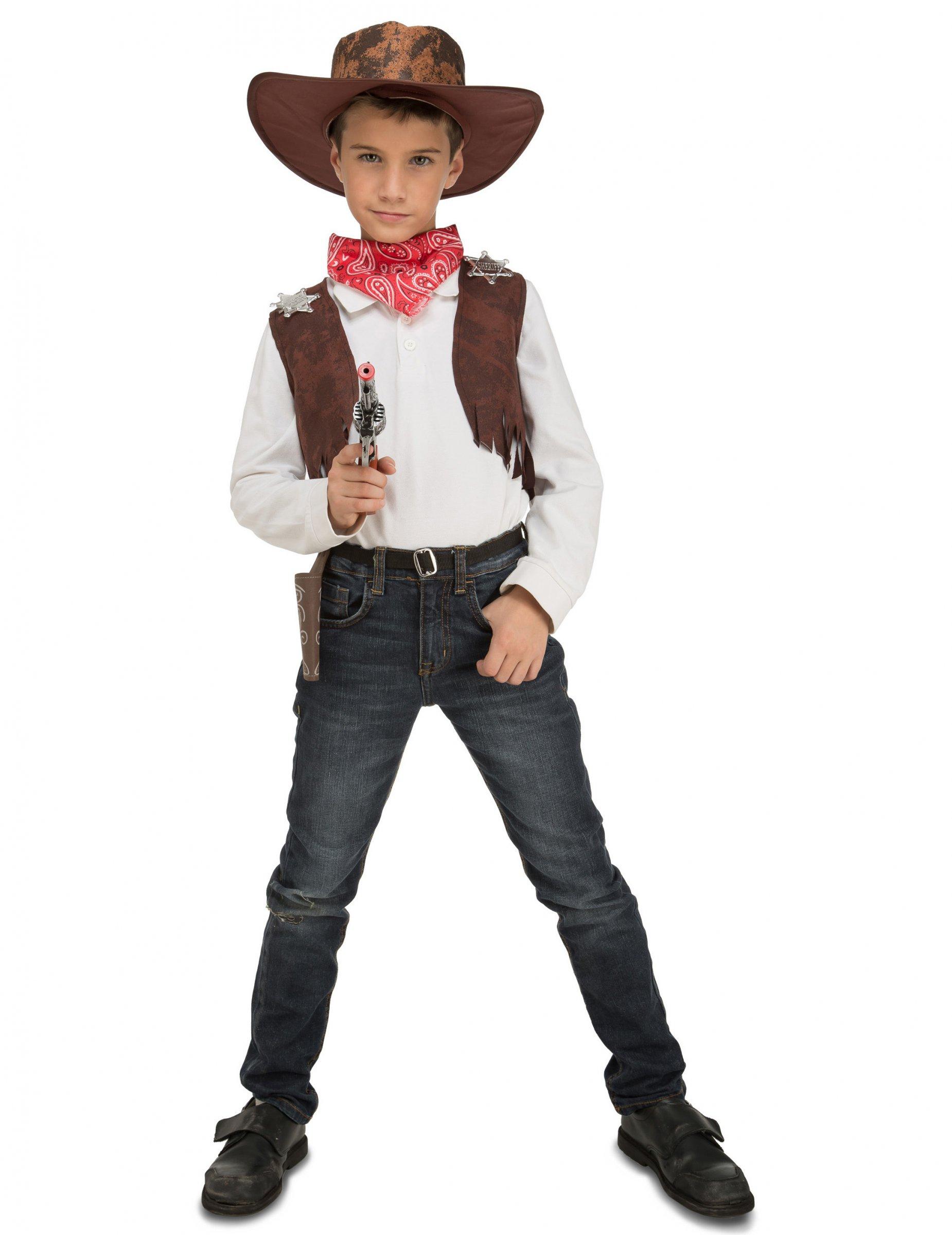 69bc0ccc3c9c Costume accessoriato da cowboy bambino: Costumi bambini,e vestiti di ...