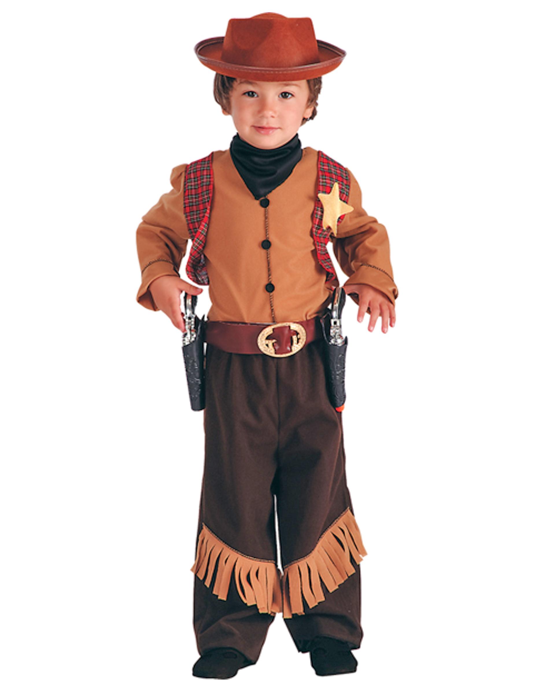 Costume Da Cowboy Sceriffo Per Bambino Costumi Bambini E
