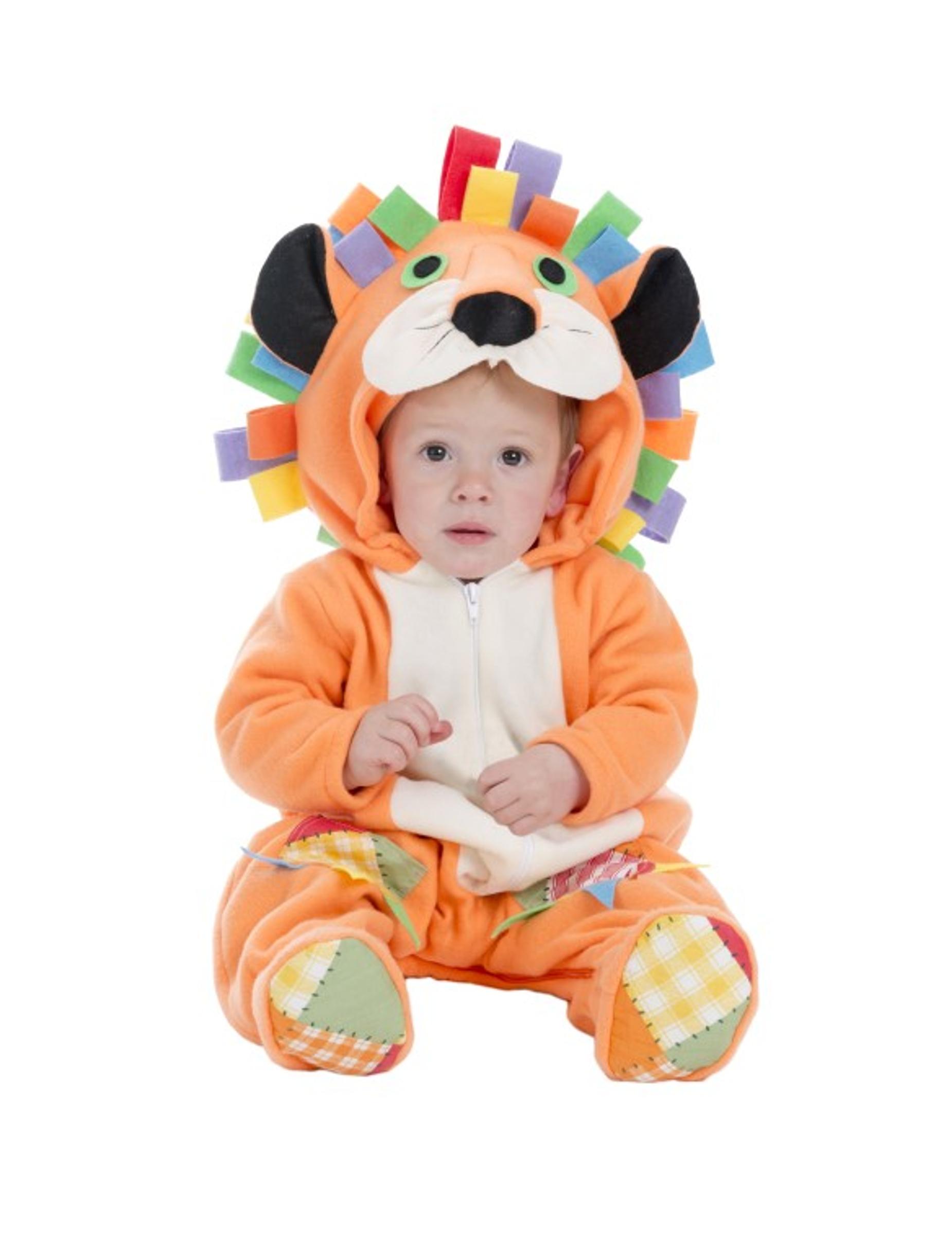 Costume Leone arancione per neonato  Costumi bambini 7b58ed78662