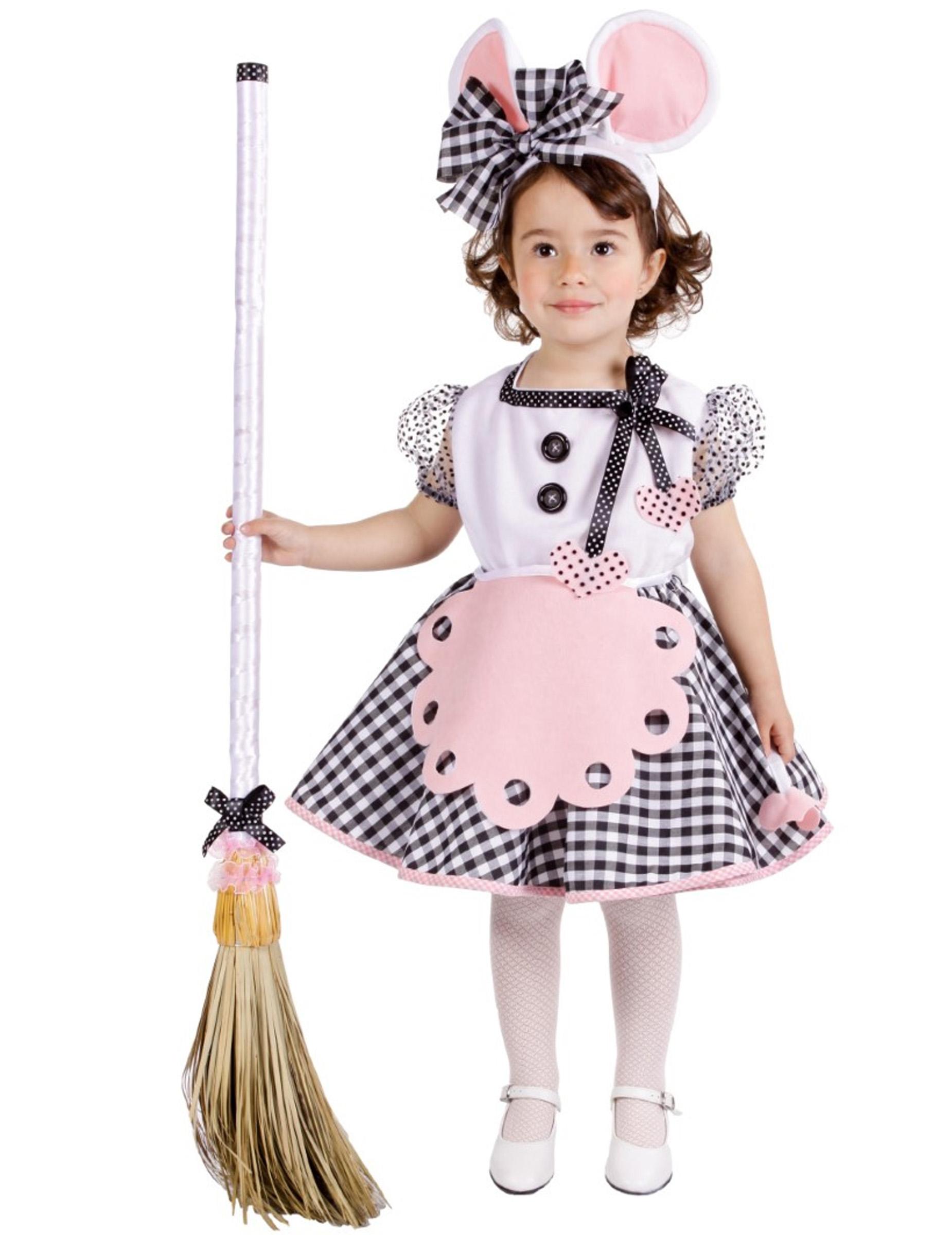 44d085b2f28e Costume da Topolina per bambina: Costumi bambini,e vestiti di ...