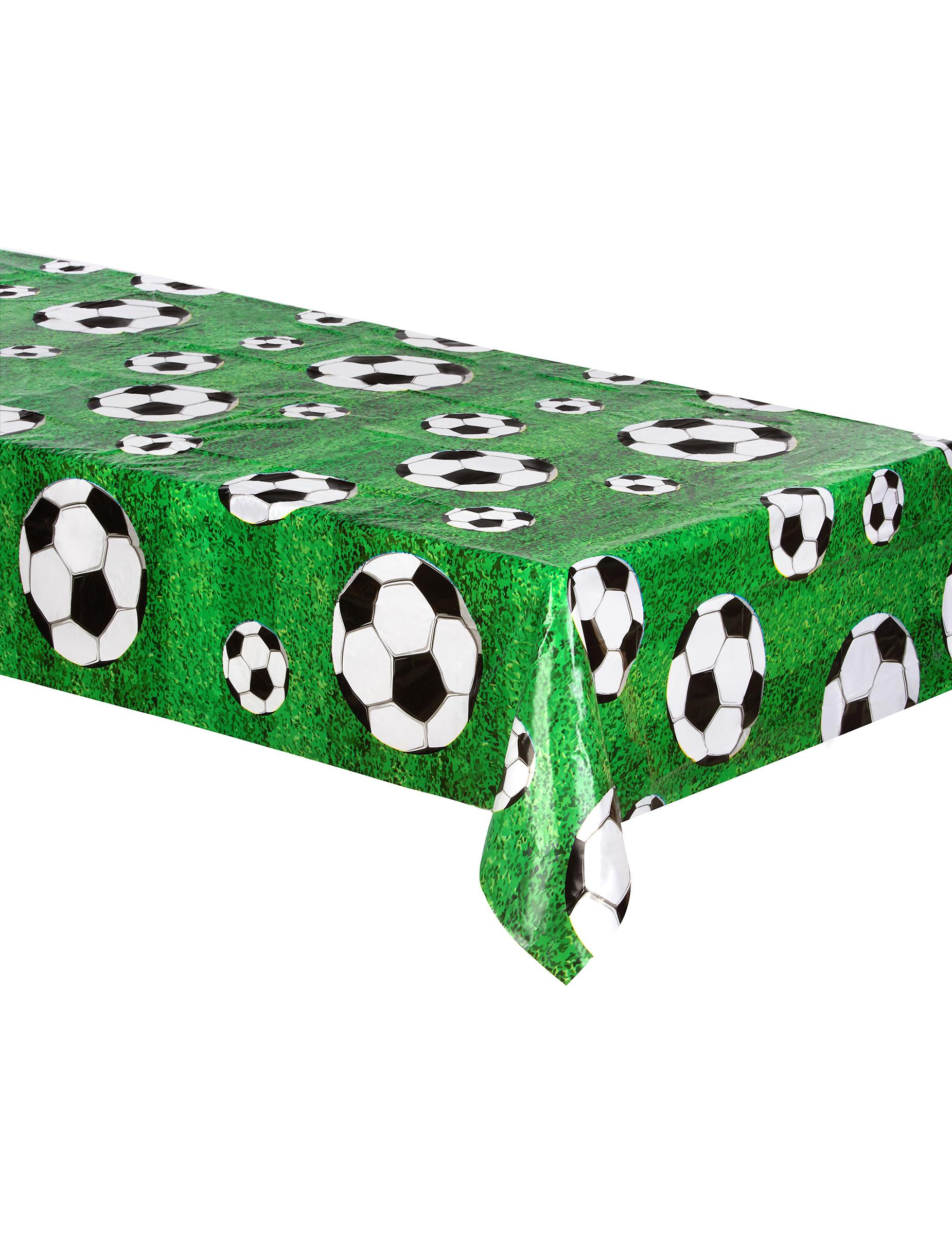 tovaglia di plastica verde party foot 120 x 180 cm addobbi e vestiti di carnevale online vegaoo. Black Bedroom Furniture Sets. Home Design Ideas