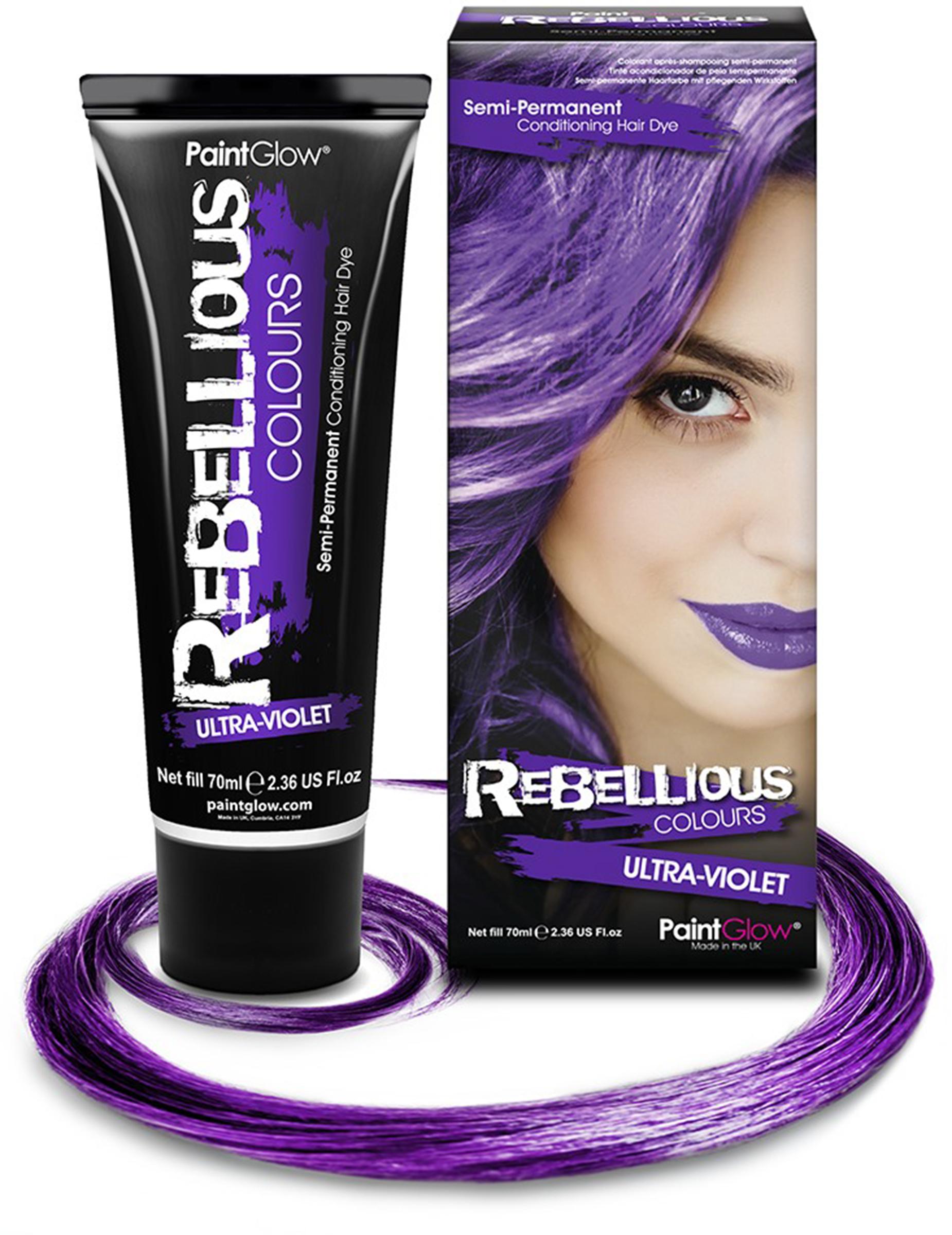 Colore semi permanente per capelli viola 70 ml 88b0bf426d7f