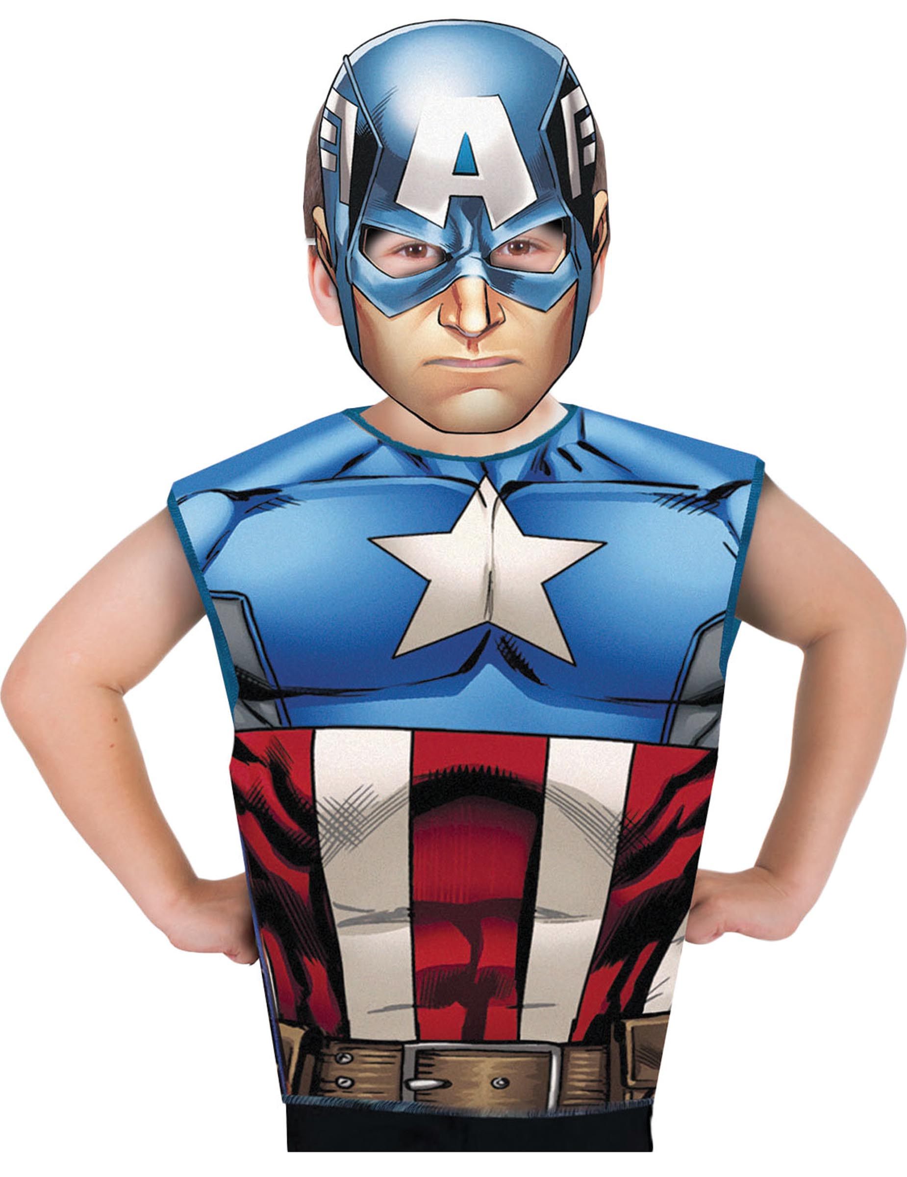 Maschera Captain America