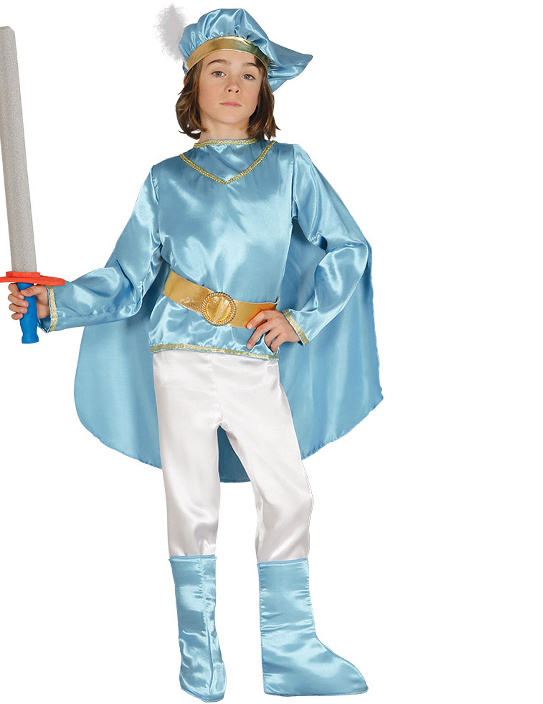 79f875d99f9d3 Costume da principe azzurro bambino  Costumi bambini