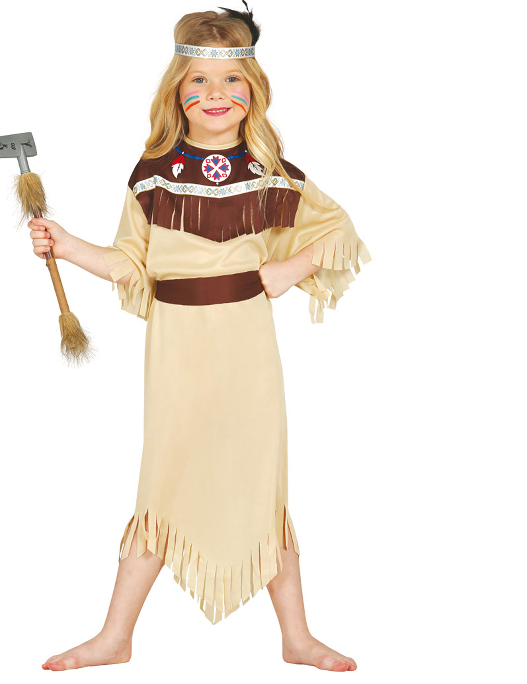 indiana carnevale bambina  Costume da indiana cherokee bambina: Costumi bambini,e vestiti di ...