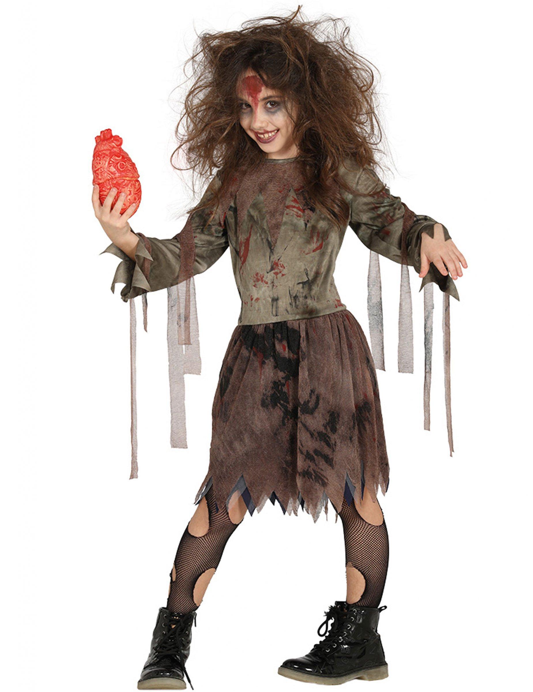 Costume da mummia zombie per bambina halloween  Costumi bambini d7a7f2a3811