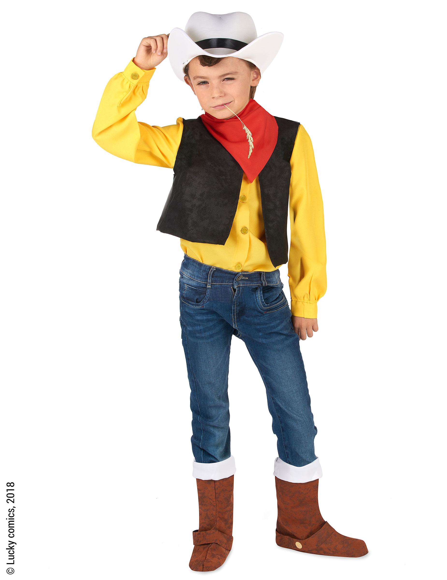 09b8ff5b7d57 Costume da Lucky Luke™ Bambino: Costumi bambini,e vestiti di ...