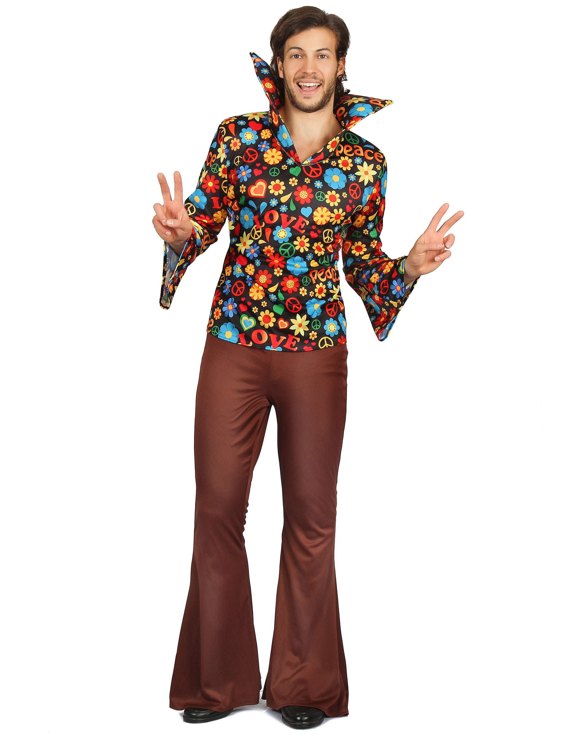 Matrimonio Hippie Uomo : Costume da hippie per uomo costumi adulti e vestiti di