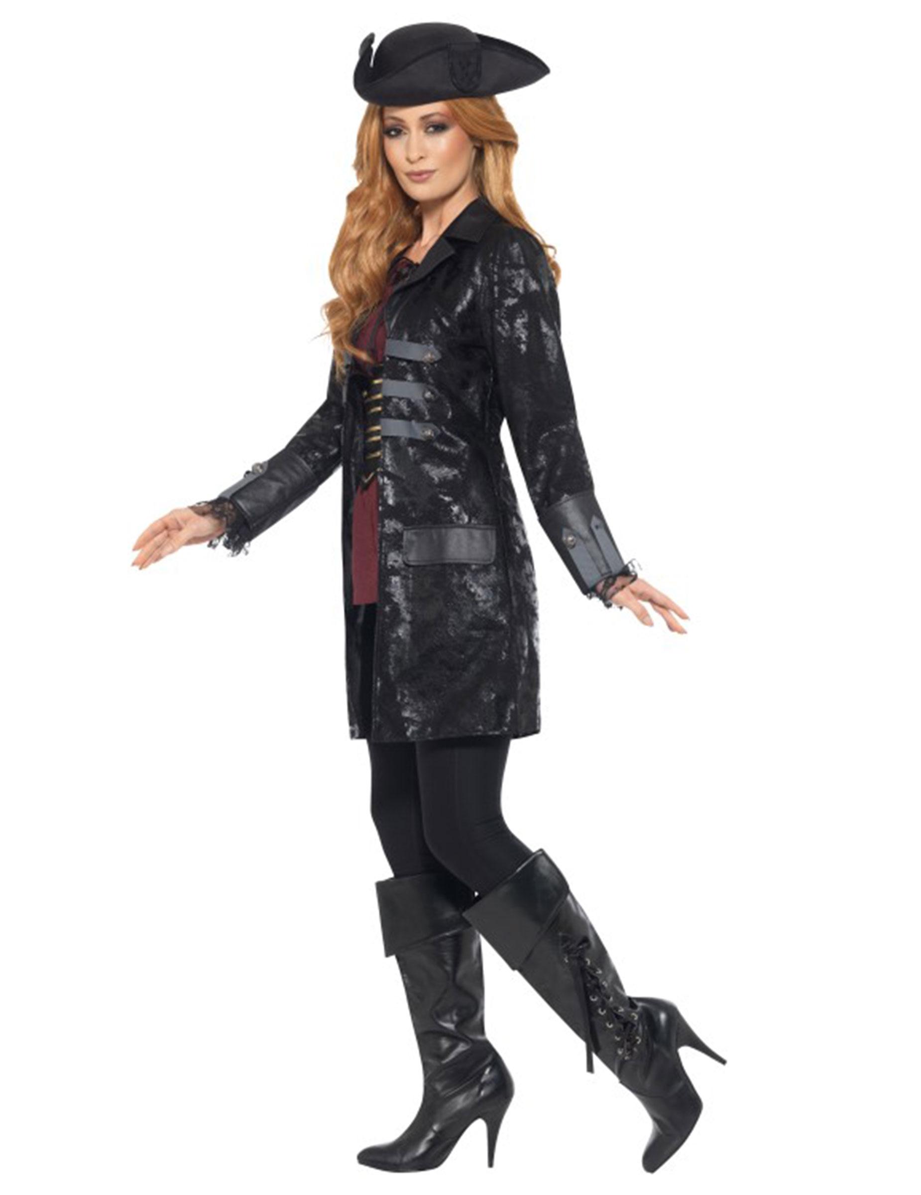 giacca donna corsaro nero