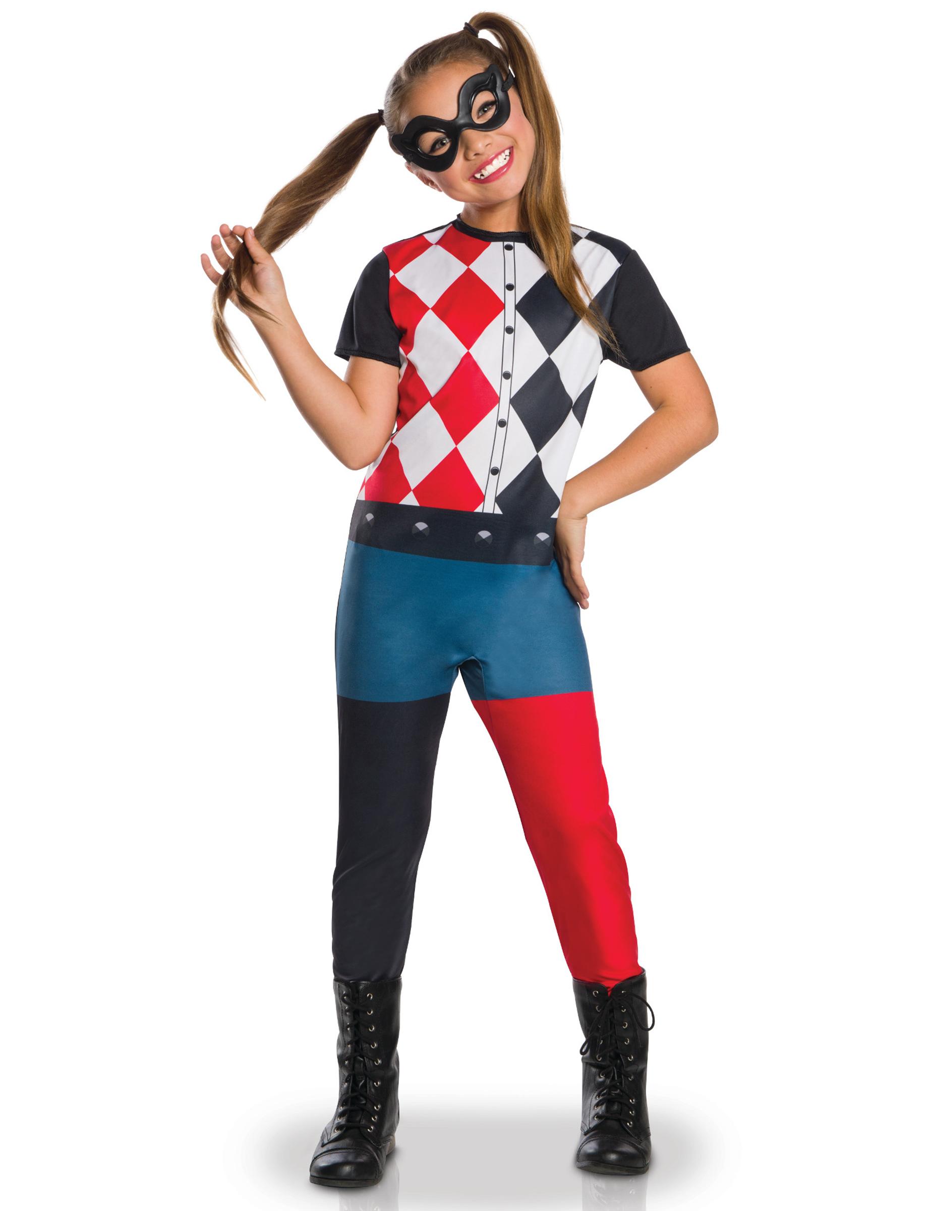Costume classico Harley Quinn™ per bambina  Costumi bambini 778c0558047