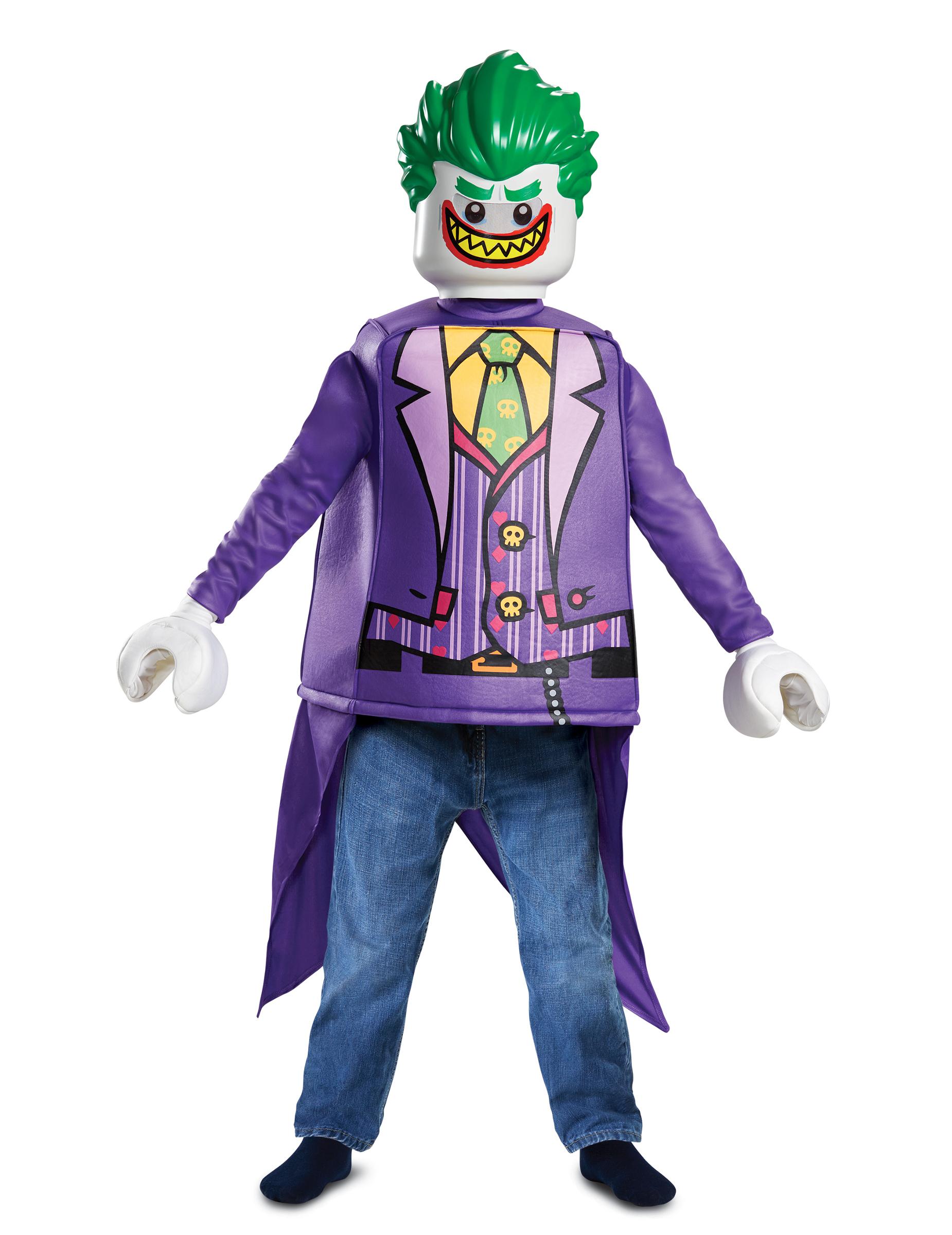 Costume joker lego™ per bambino costumi bambini e vestiti di