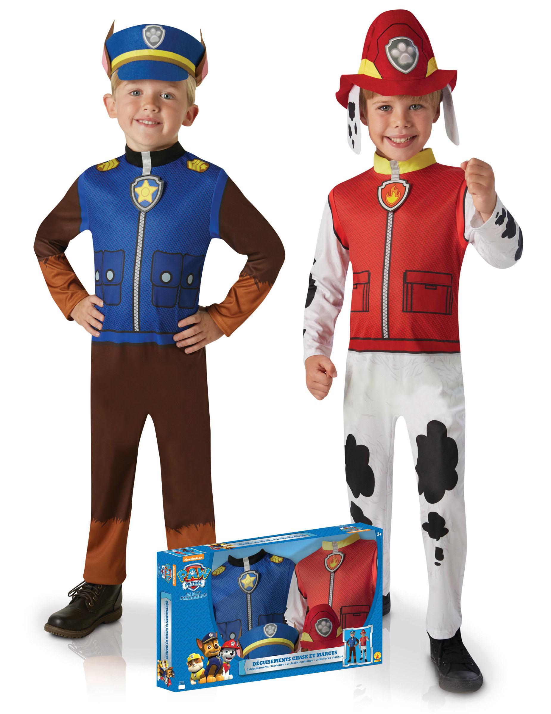 42bf16f440c4 Costume coppia Chase e Marshall™ Paw Patrol™ Bambino: Costumi ...