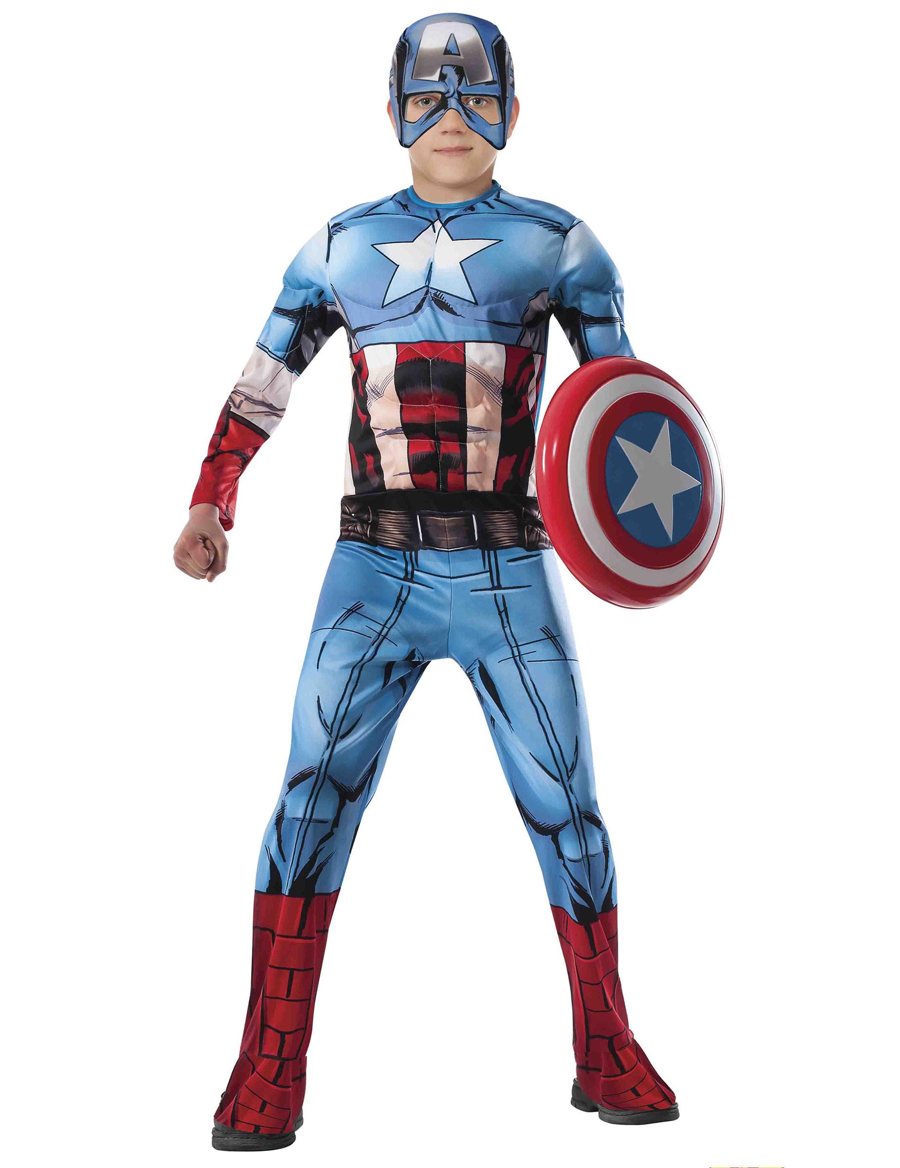 vari design il prezzo rimane stabile miglior servizio Costume Deluxe Capitan America Avengers™ per bambino ...