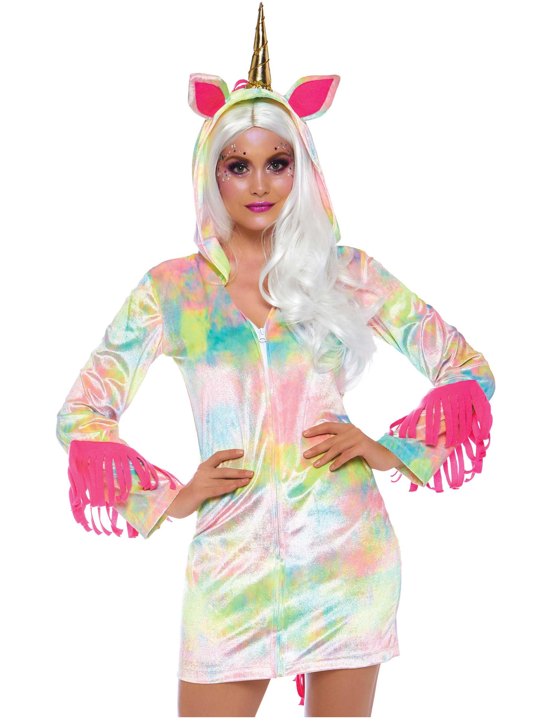 design senza tempo sito affidabile comprare a buon mercato Costume da unicorno magico per donna