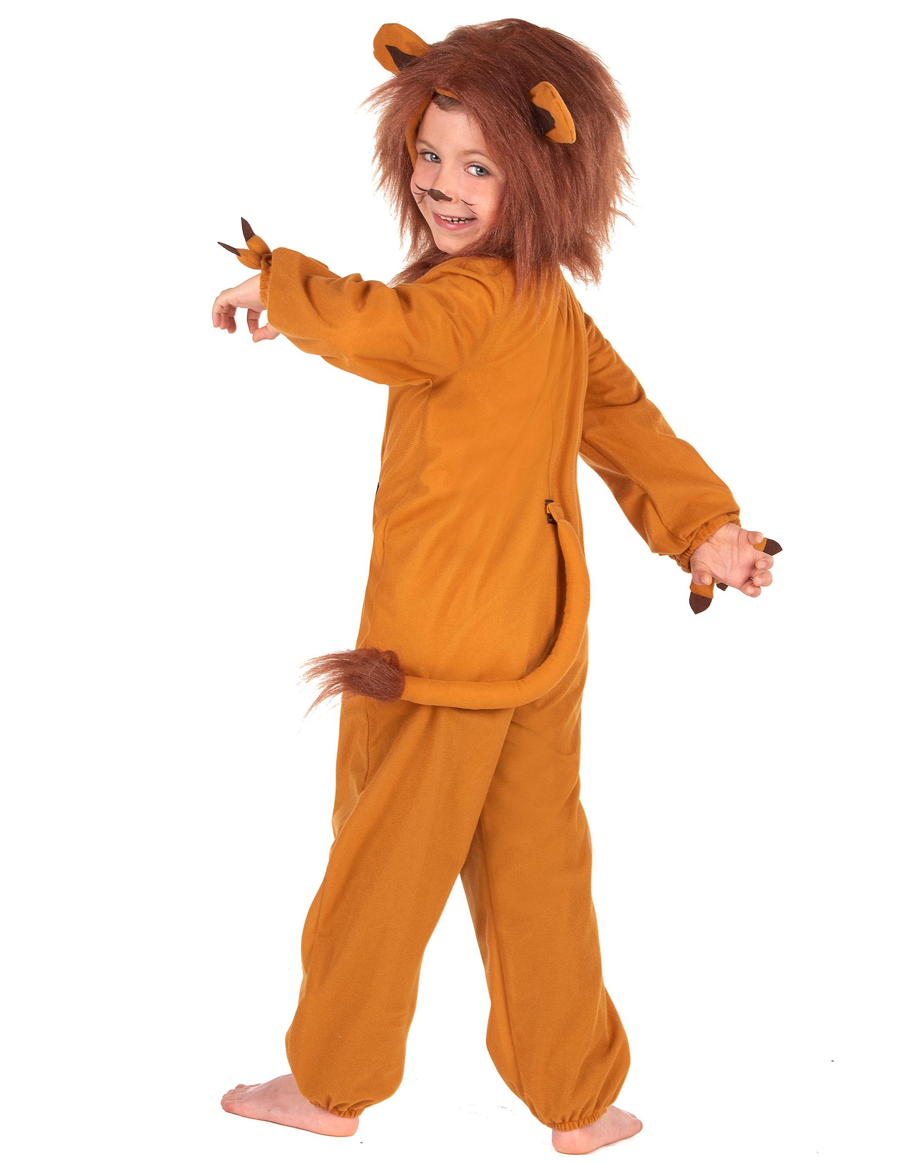 Costume da leone con criniera per bambino  Costumi bambini a34354cdbdd