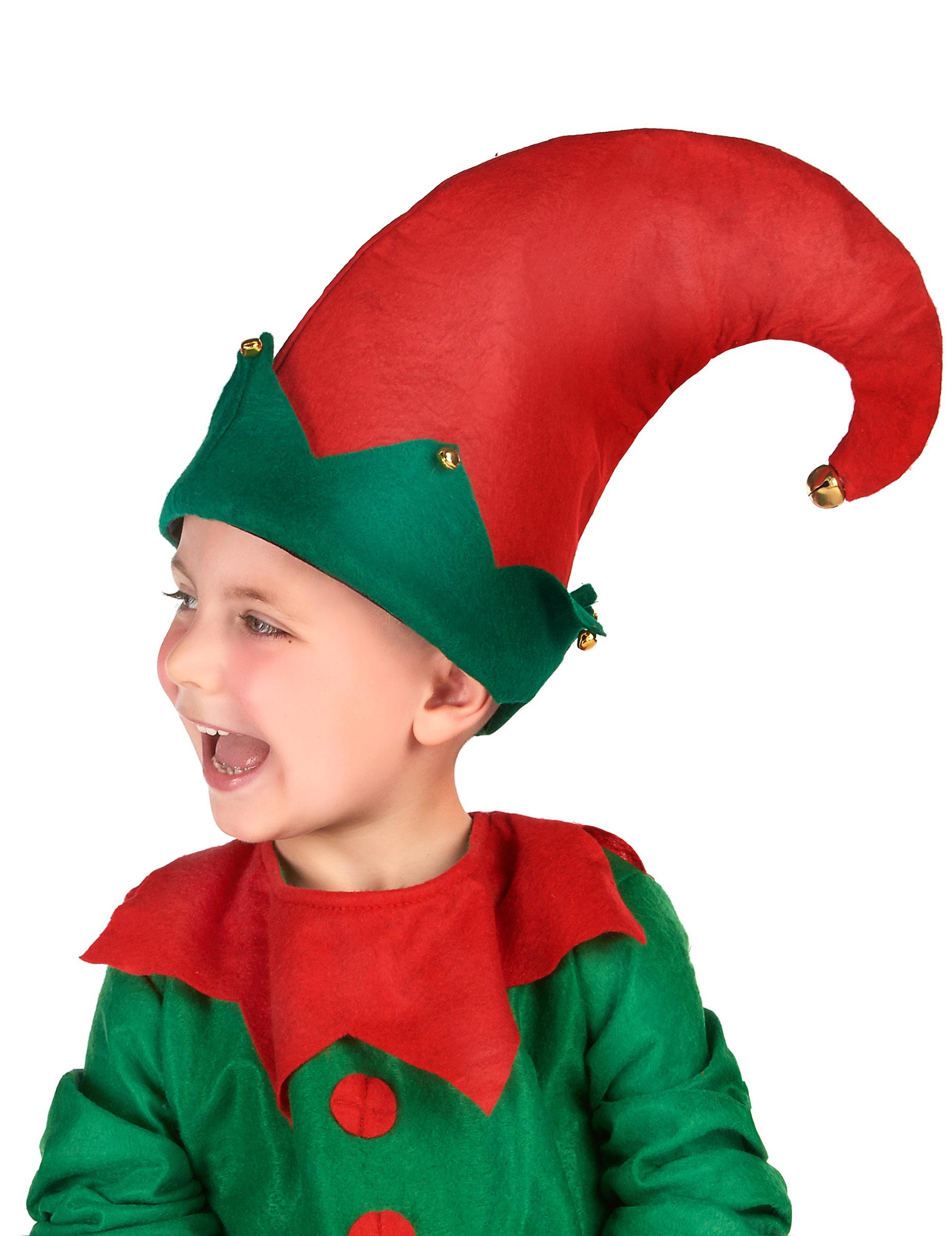 Cappello da elfo di natale per bambino  Cappelli f38e51e98728