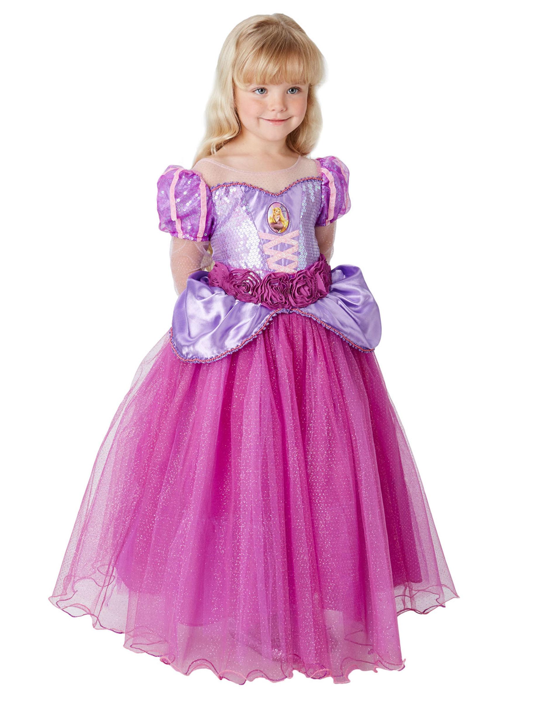 grandi affari 2017 alta moda grandi affari sulla moda Costume Premium Rapunzel™ per bambina