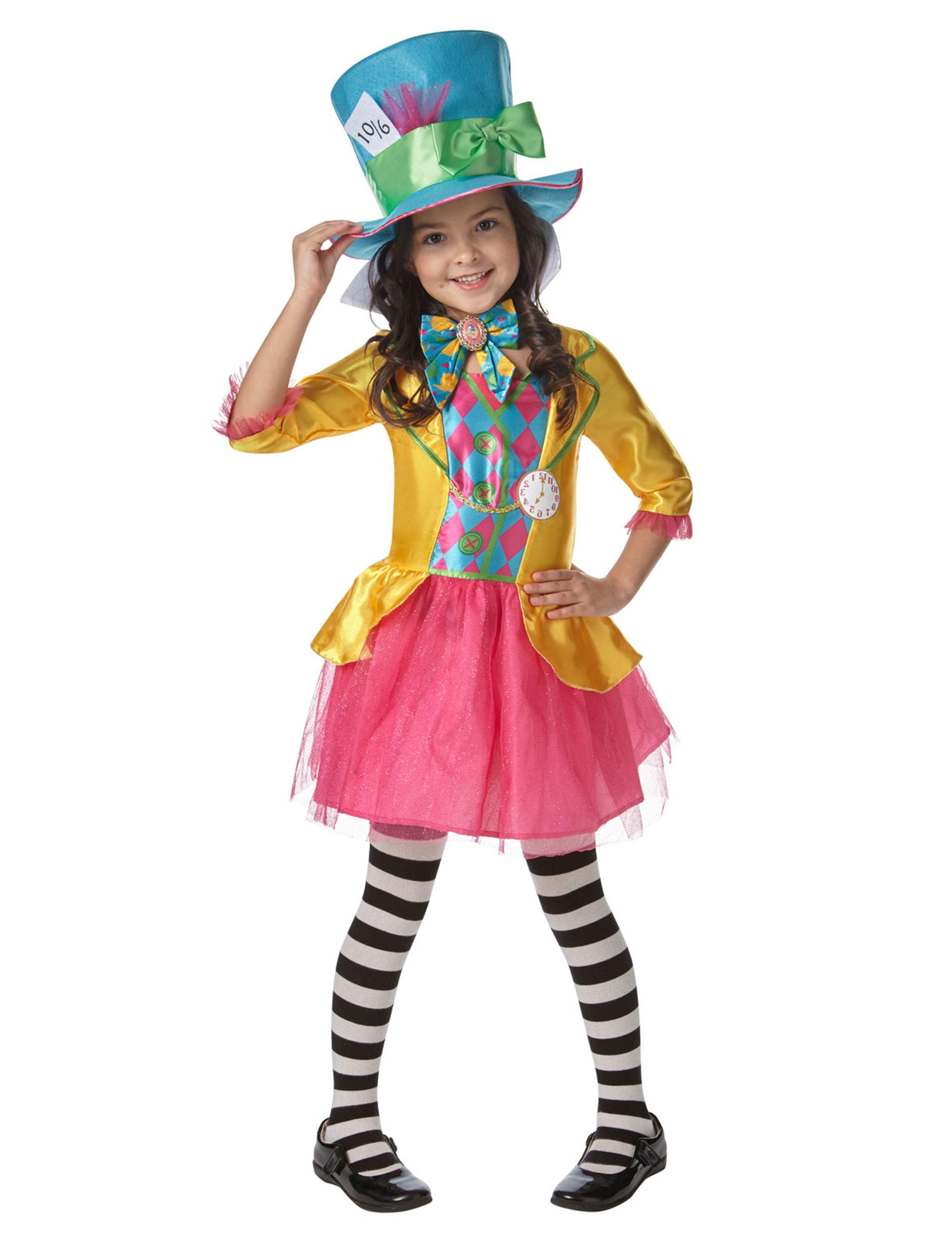 ordine ultimo stile stile di moda del 2019 Costume da Cappellaio Matto ™ per bambina