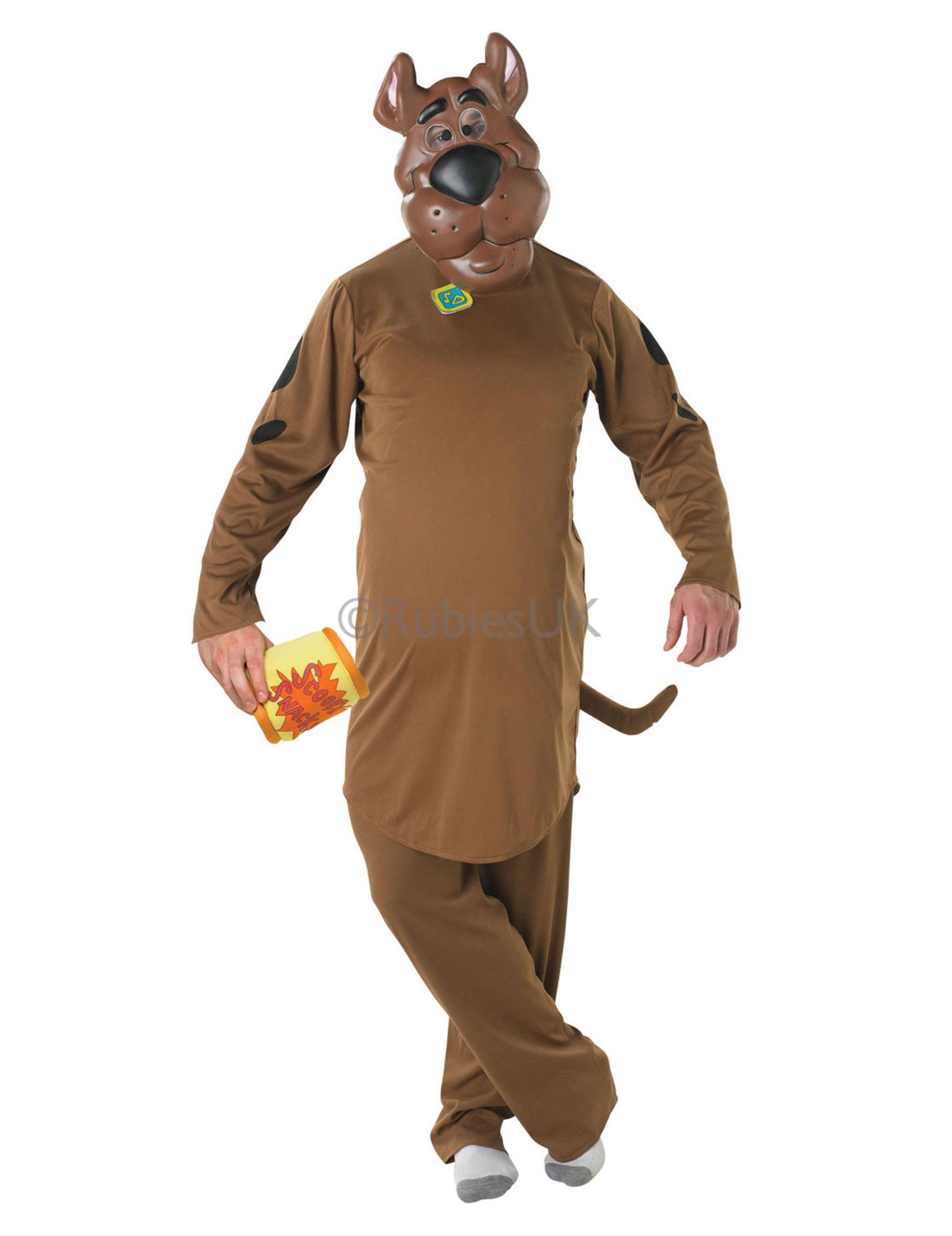 Shaggy Costume PARRUCCA Costume Scooby Doo cartoon uomo Halloween Adulto Vestito