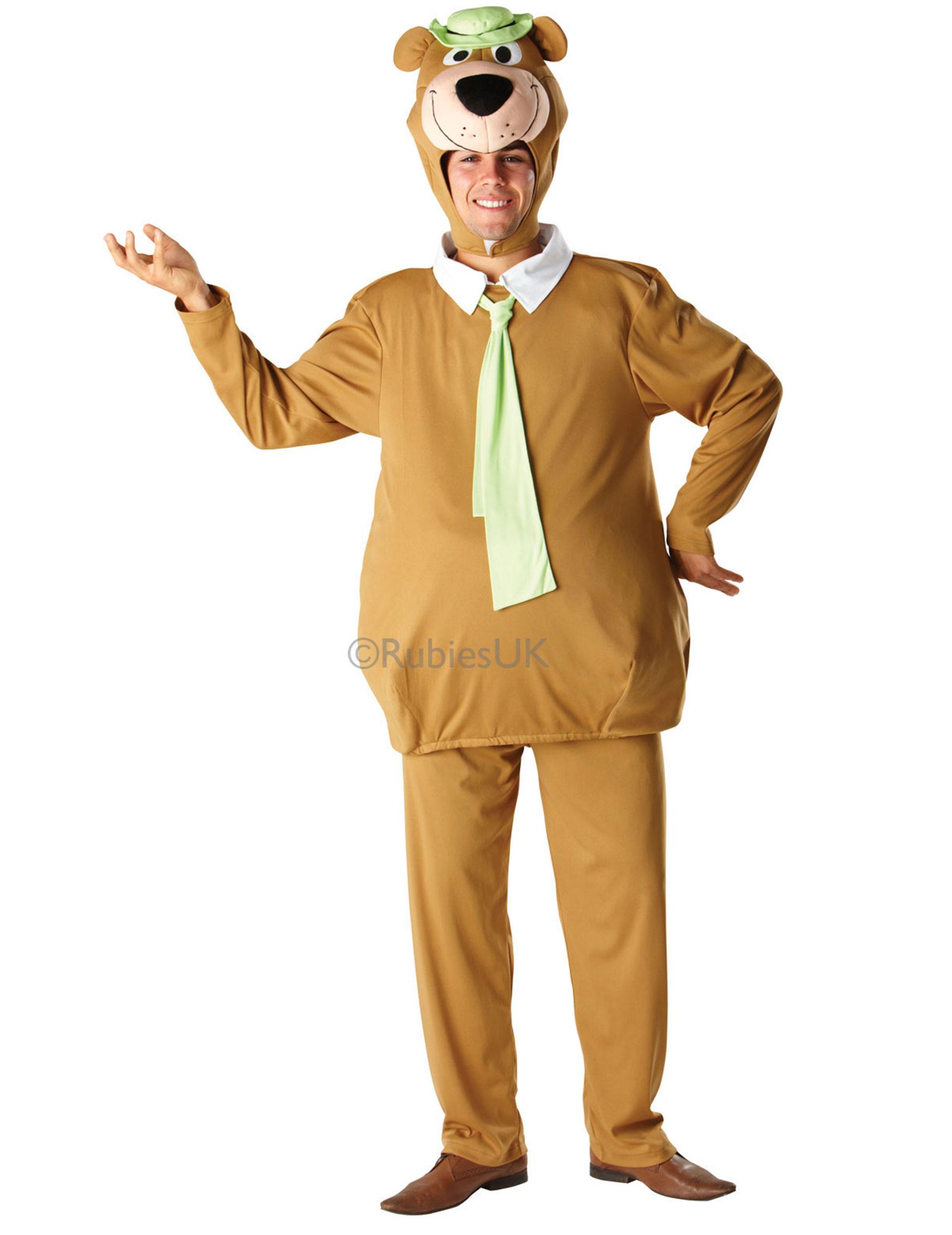 Costume da orso yoghi™ per adulto: costumi adulti e vestiti di
