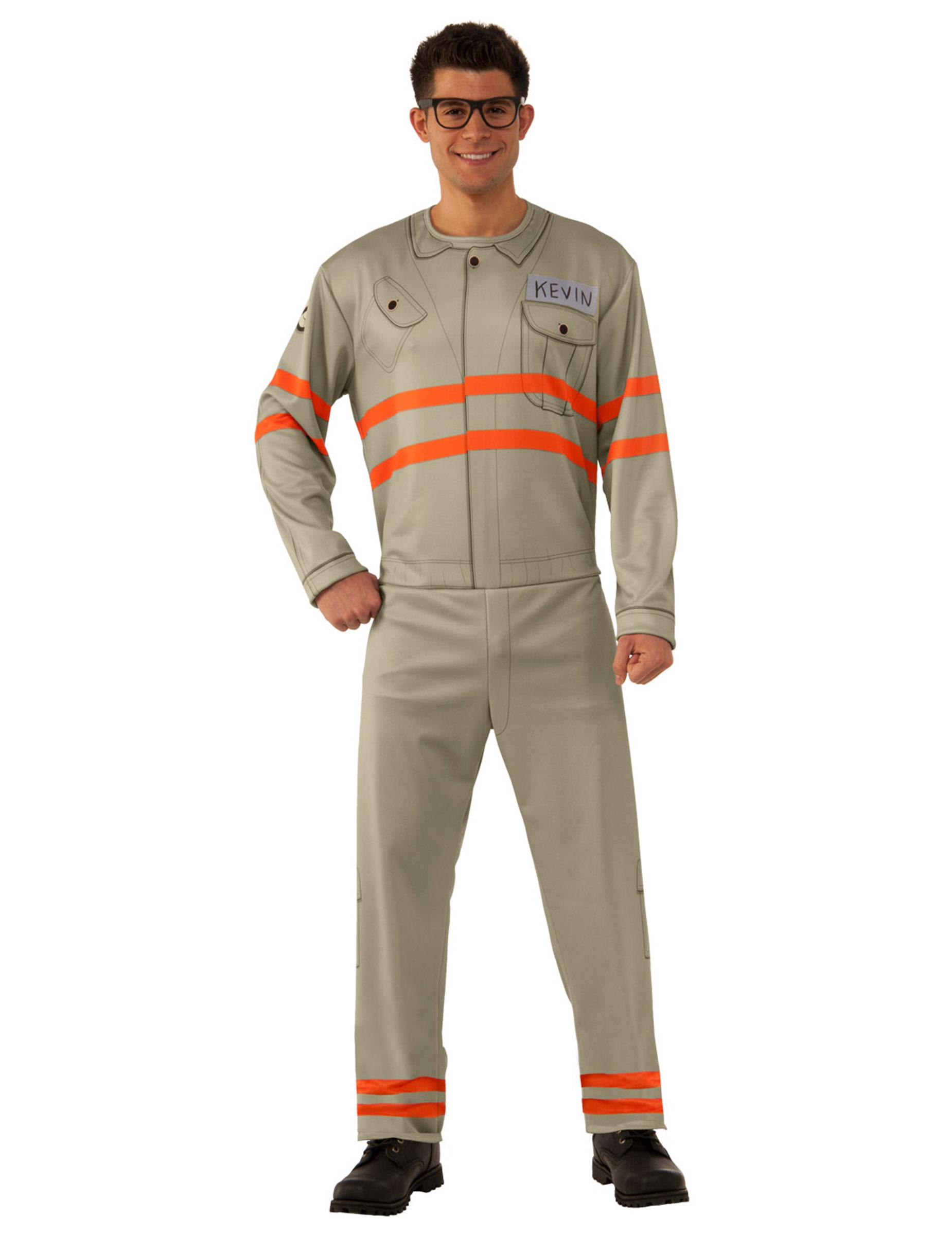 design unico New York fornitore ufficiale Costume da Kevin Ghostbusters™ per uomo: Costumi adulti,e vestiti ...