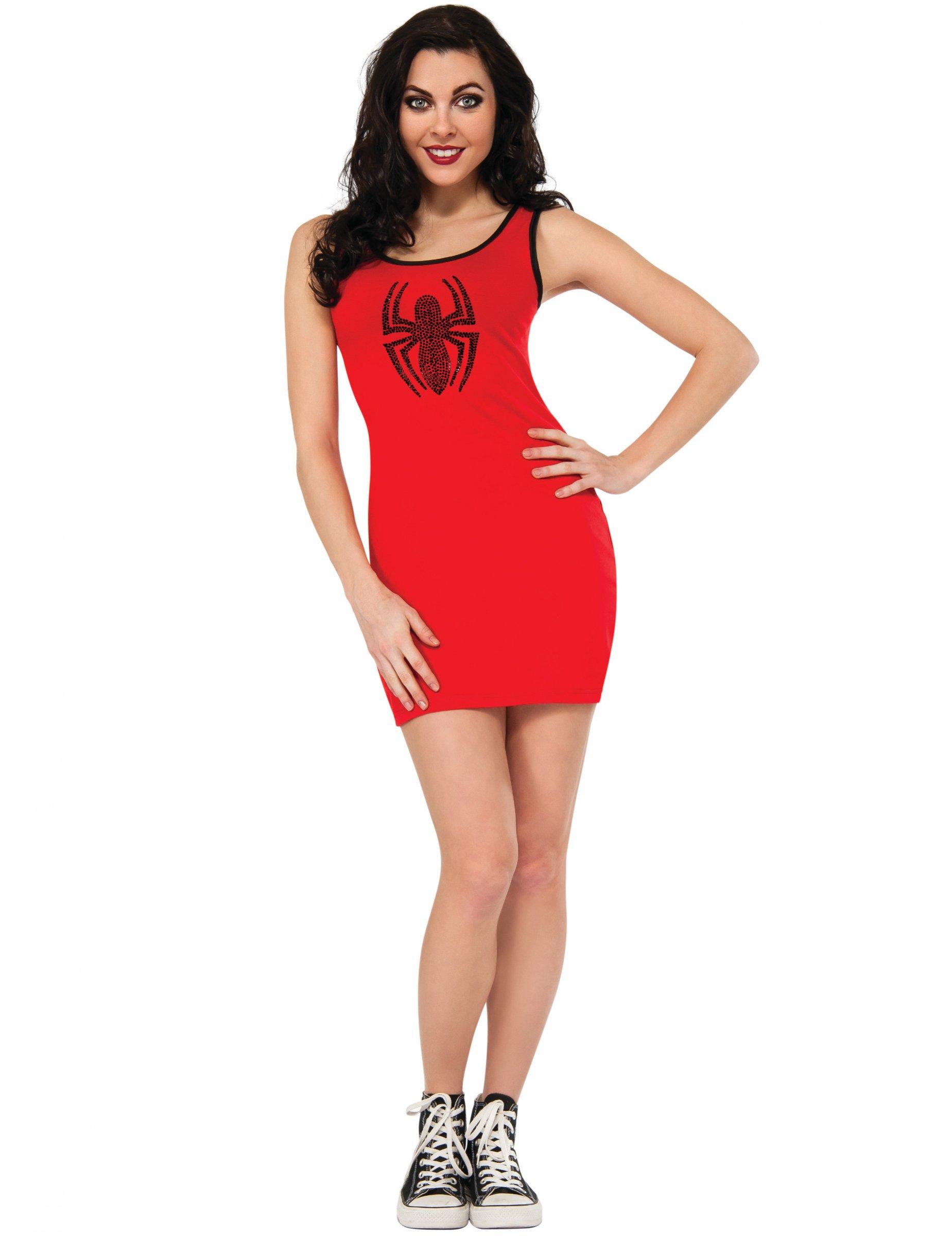 size 40 6c40d e94d7 Costume vestito rosso Spider-Girl™ per donna