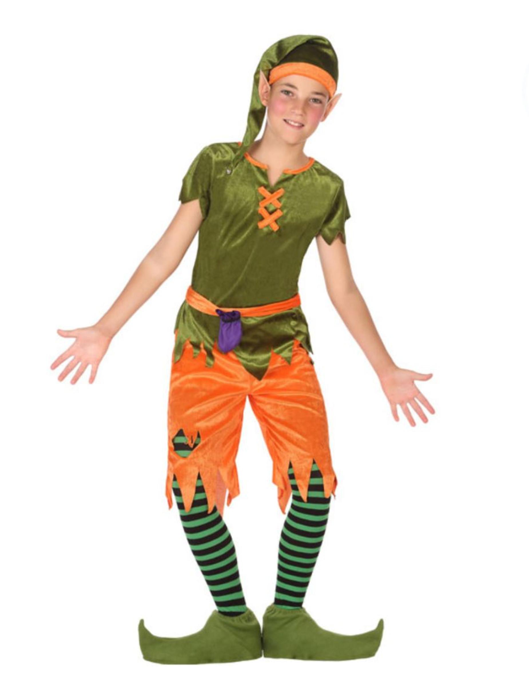 Costume folletto del bosco bambino  Costumi bambini 2691f7d9639e