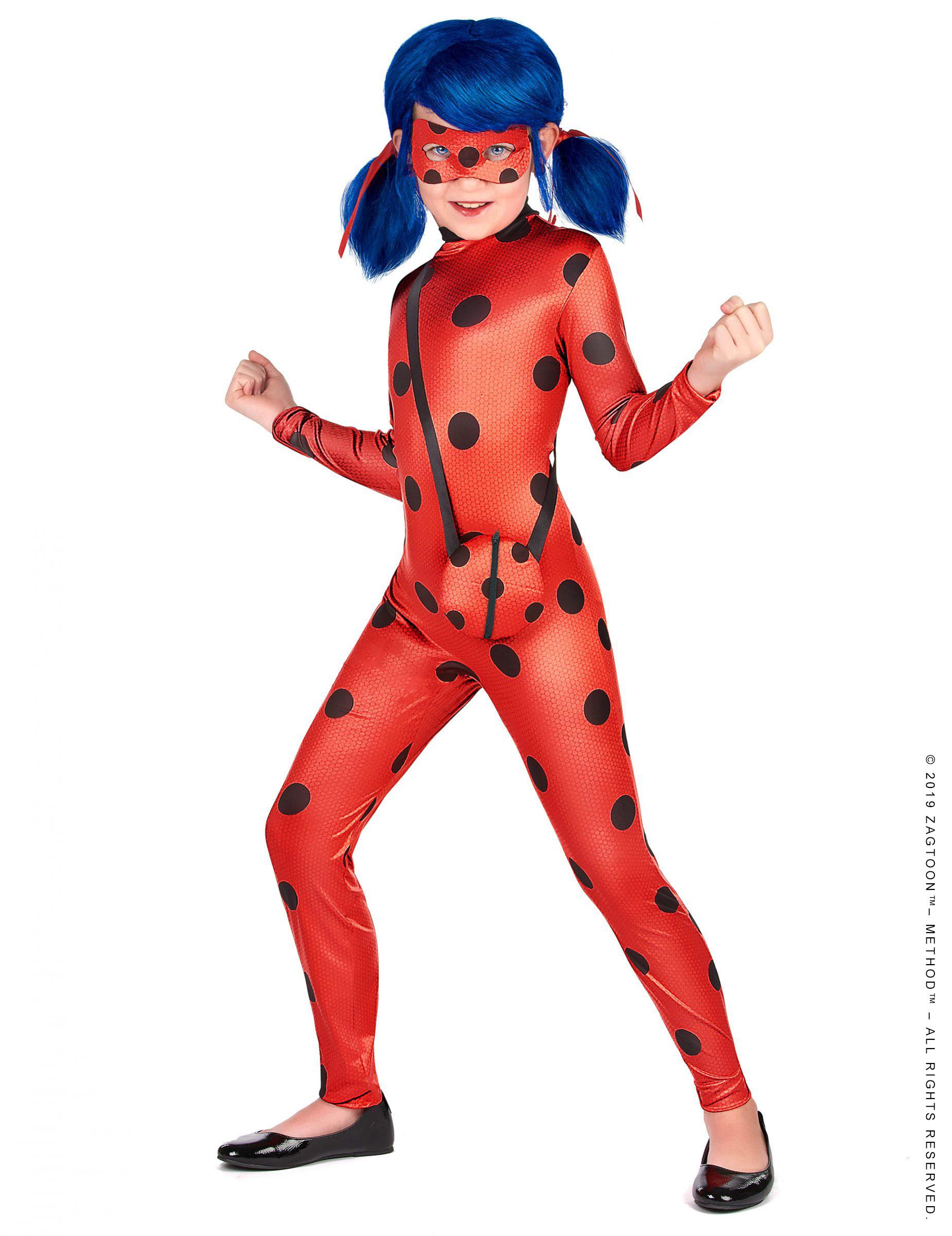 Costume Da Ladybug Miraculous Deluxe Per Bambina Costumi