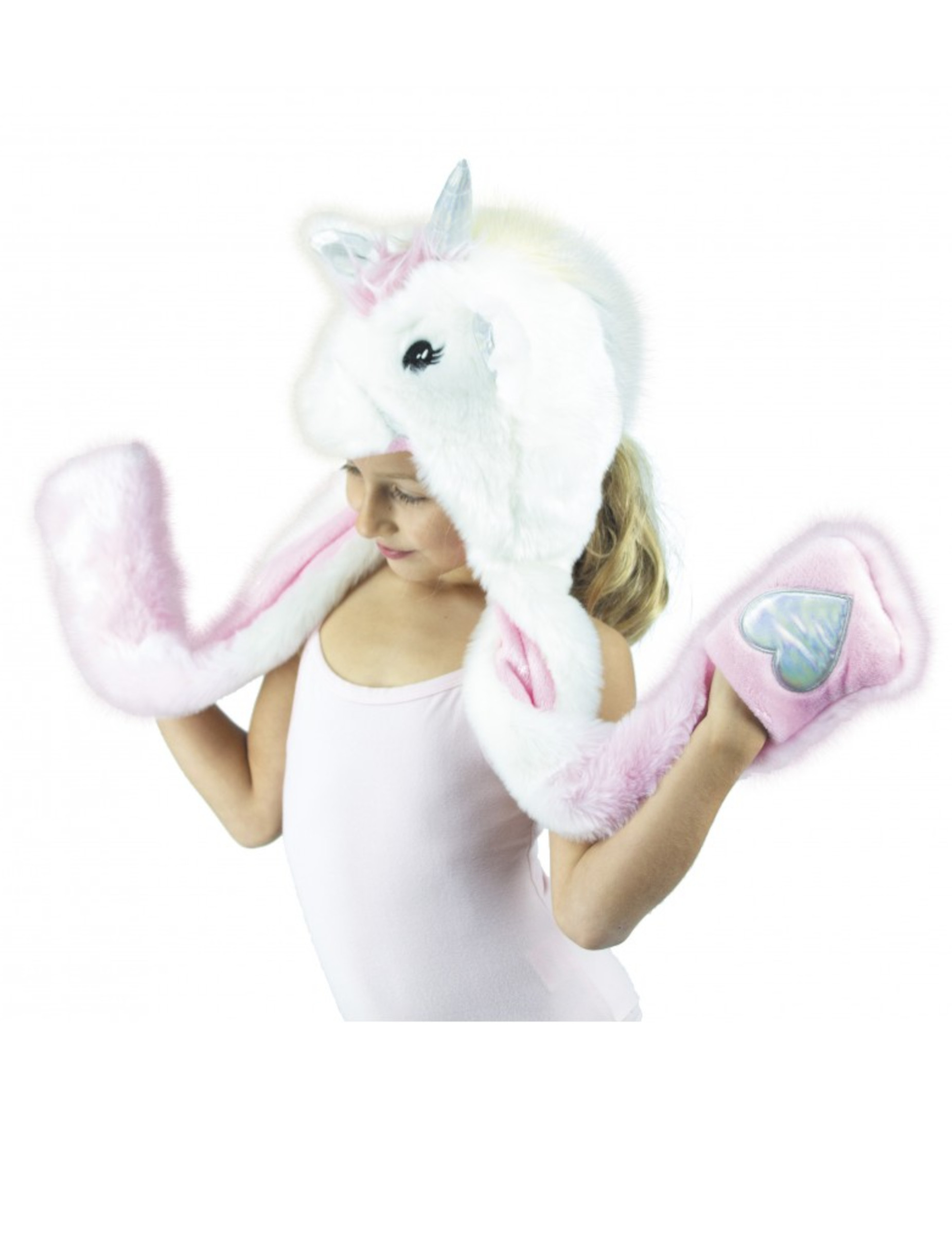 Animale berretto cappello di peluche unicorno